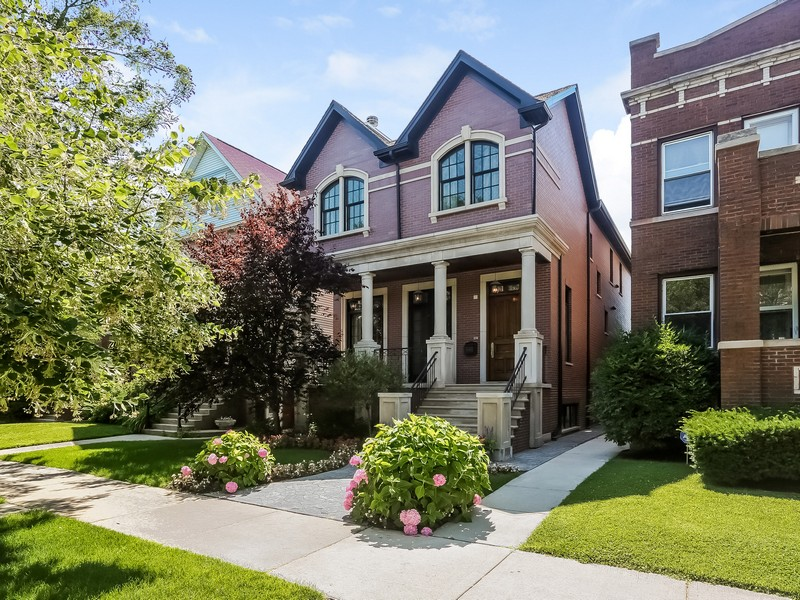 Maison unifamiliale pour l Vente à Extraordinary Single Family Home 4344 N Wolcott Avenue Lincoln Square, Chicago, Illinois 60613 États-Unis