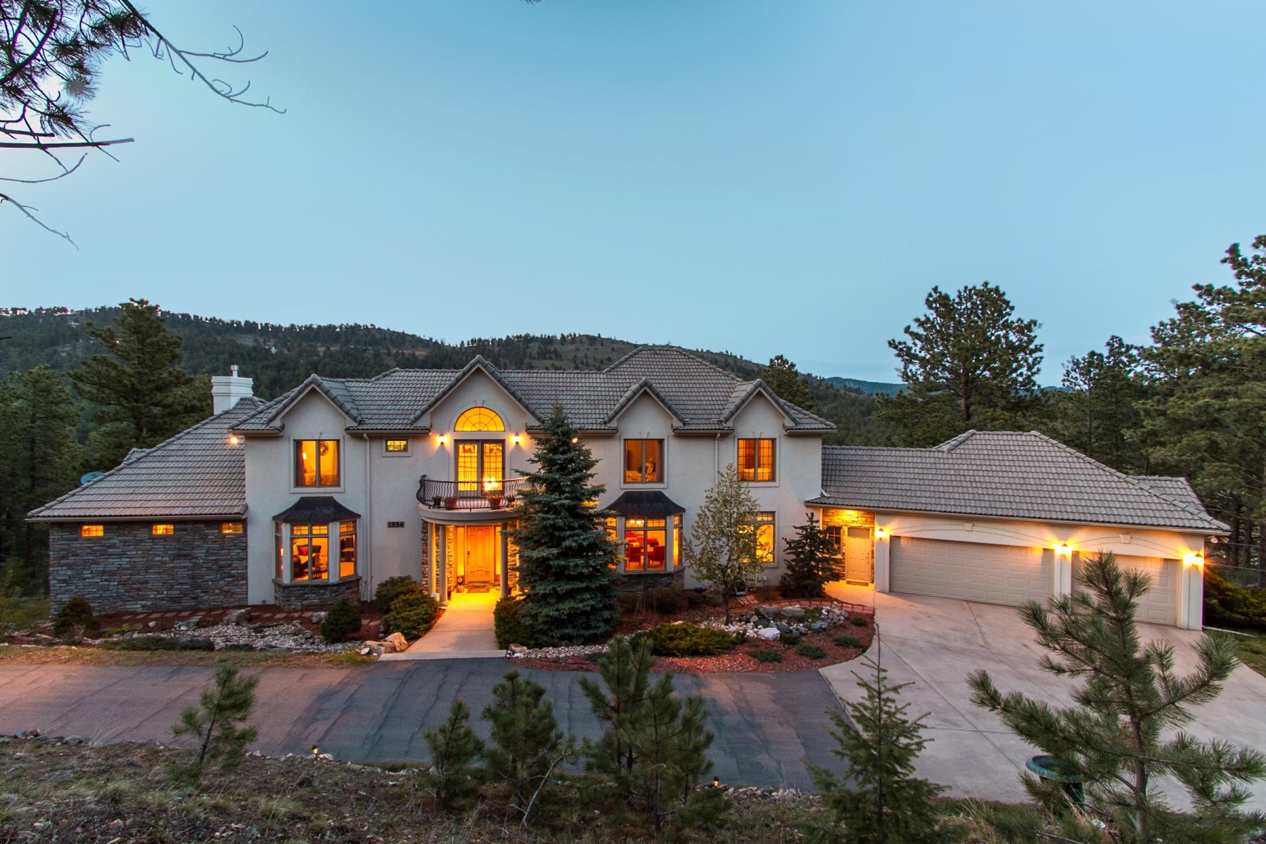 独户住宅 为 销售 在 a foothills lifestyle has never been so convenient 1554 Pinedale Ranch Circle Evergreen, 科罗拉多州 80439 美国