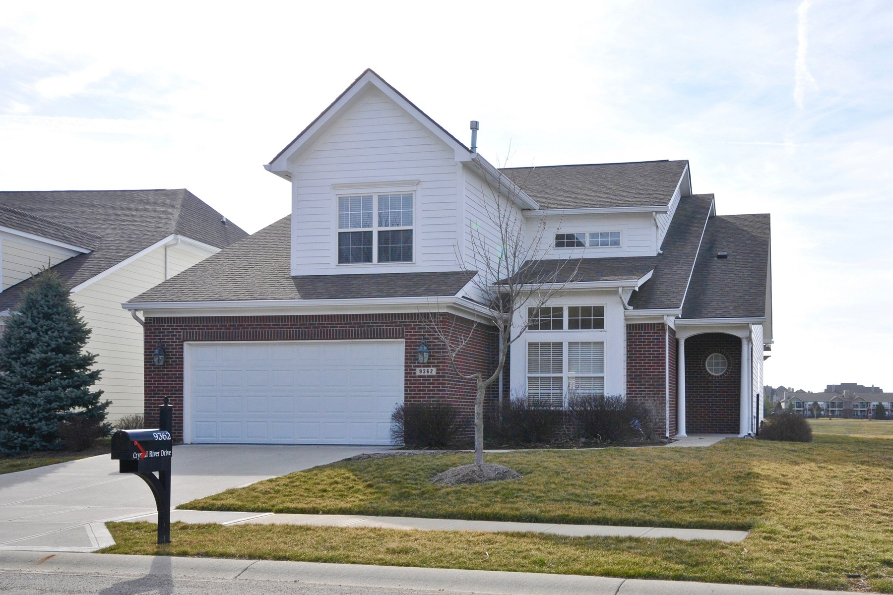 Single Family Home for Sale at Pristine Residence 9362 Crystal River Drive Indianapolis, Indiana, 46240 United States