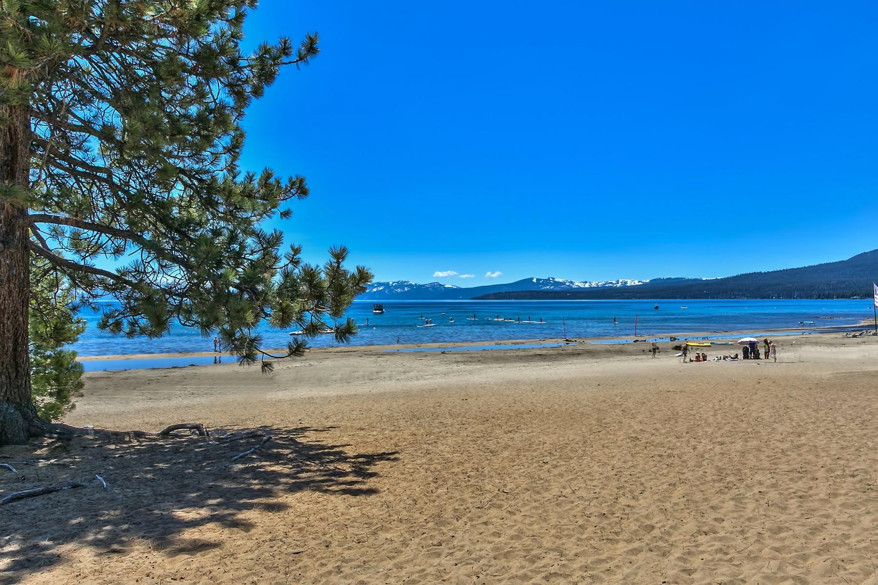 共管式独立产权公寓 为 销售 在 8308 North Lake Boulevard, Unit 4 8308 North Lake Boulevard Unit 4 Kings Beach, 加利福尼亚州 96143 美国
