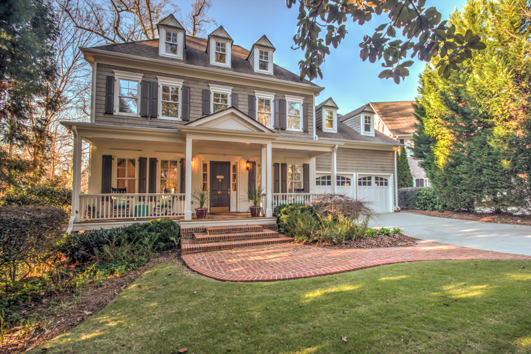 Single Family Home for Sale at Captivating Traditional Home 89 Honour Circle NW Buckhead, Atlanta, Georgia 30305 United States