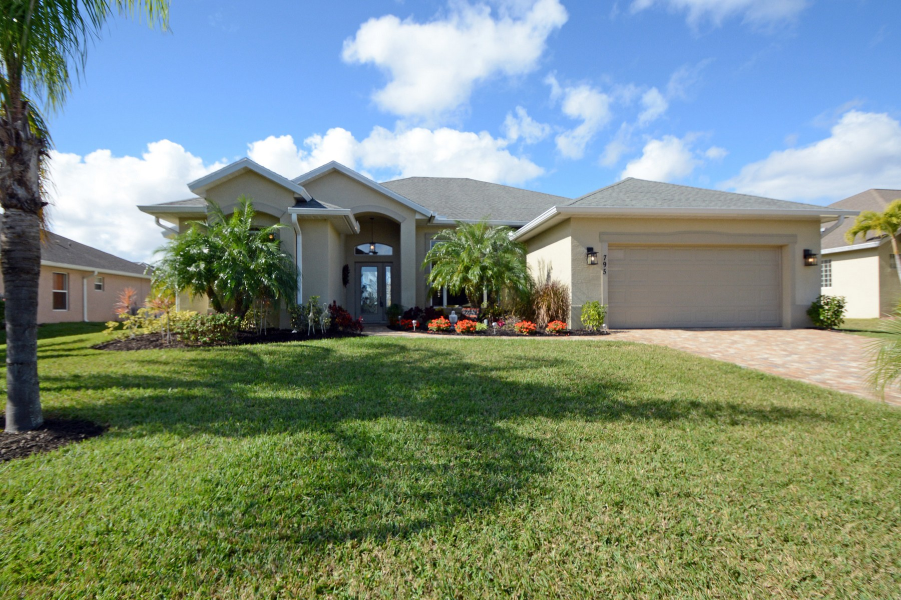 Single Family Home for Sale at Practically Perfect, Like New Pool Home 795 Sarina Terrace SW Vero Beach, Florida, 32968 United States