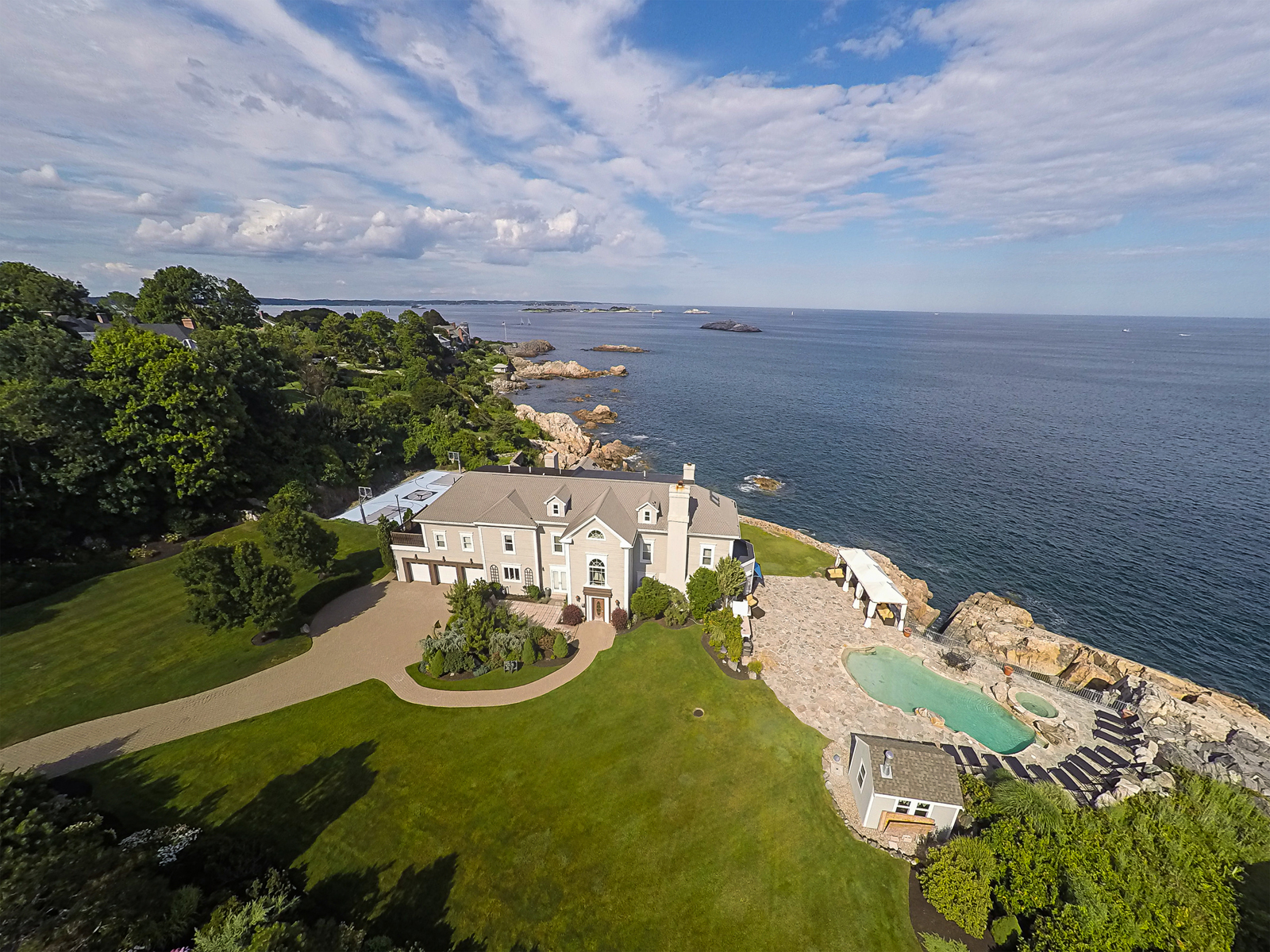 sales property at Breathtaking Oceanfront Estate