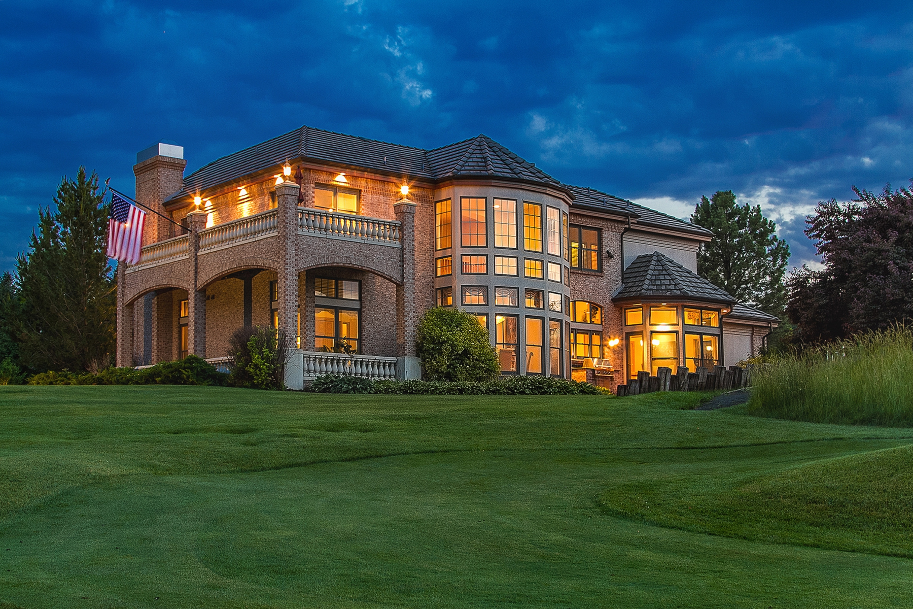 Single Family Home for Sale at Premier site in Glenmoor Country Club overlooking the ponds and golf course 70 Glenmoor Drive Cherry Hills Village, Colorado 80113 United States