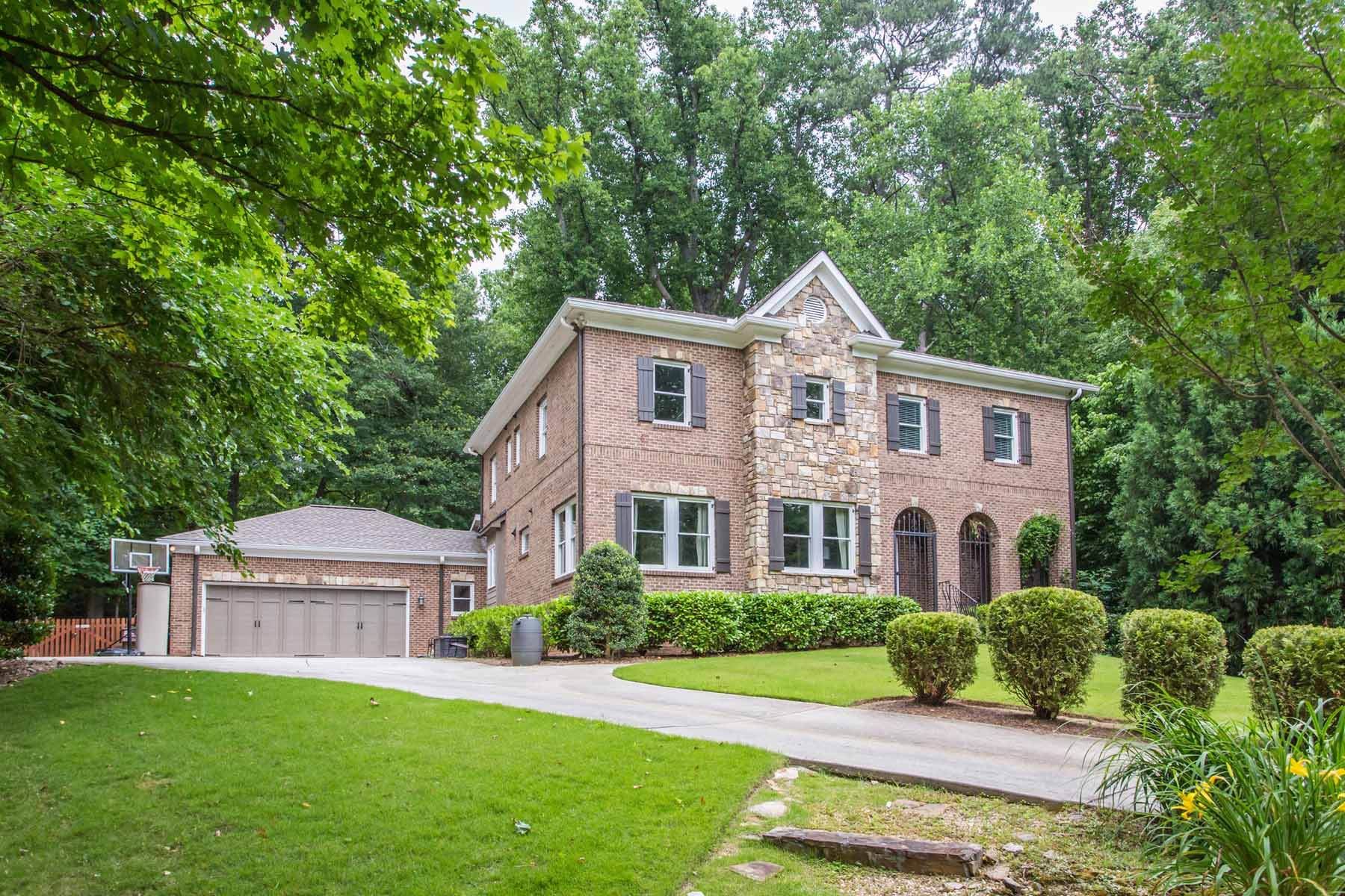 Single Family Home for Sale at Ideal Location in Durand Mill Neighborhood 1943 Grist Stone Court NE Atlanta, Georgia, 30307 United States