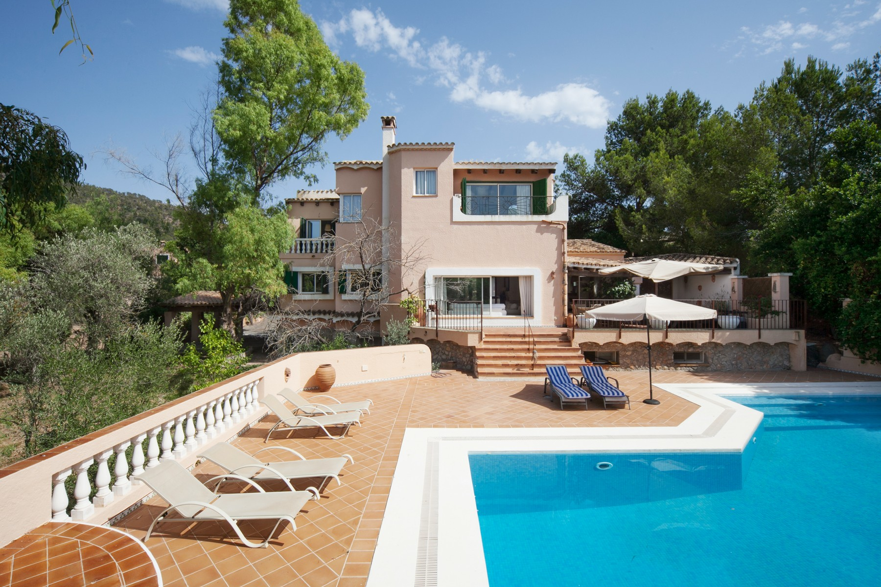Single Family Home for Sale at Country home with guest house in Coll d´en Baix Port Andratx, Mallorca 07157 Spain