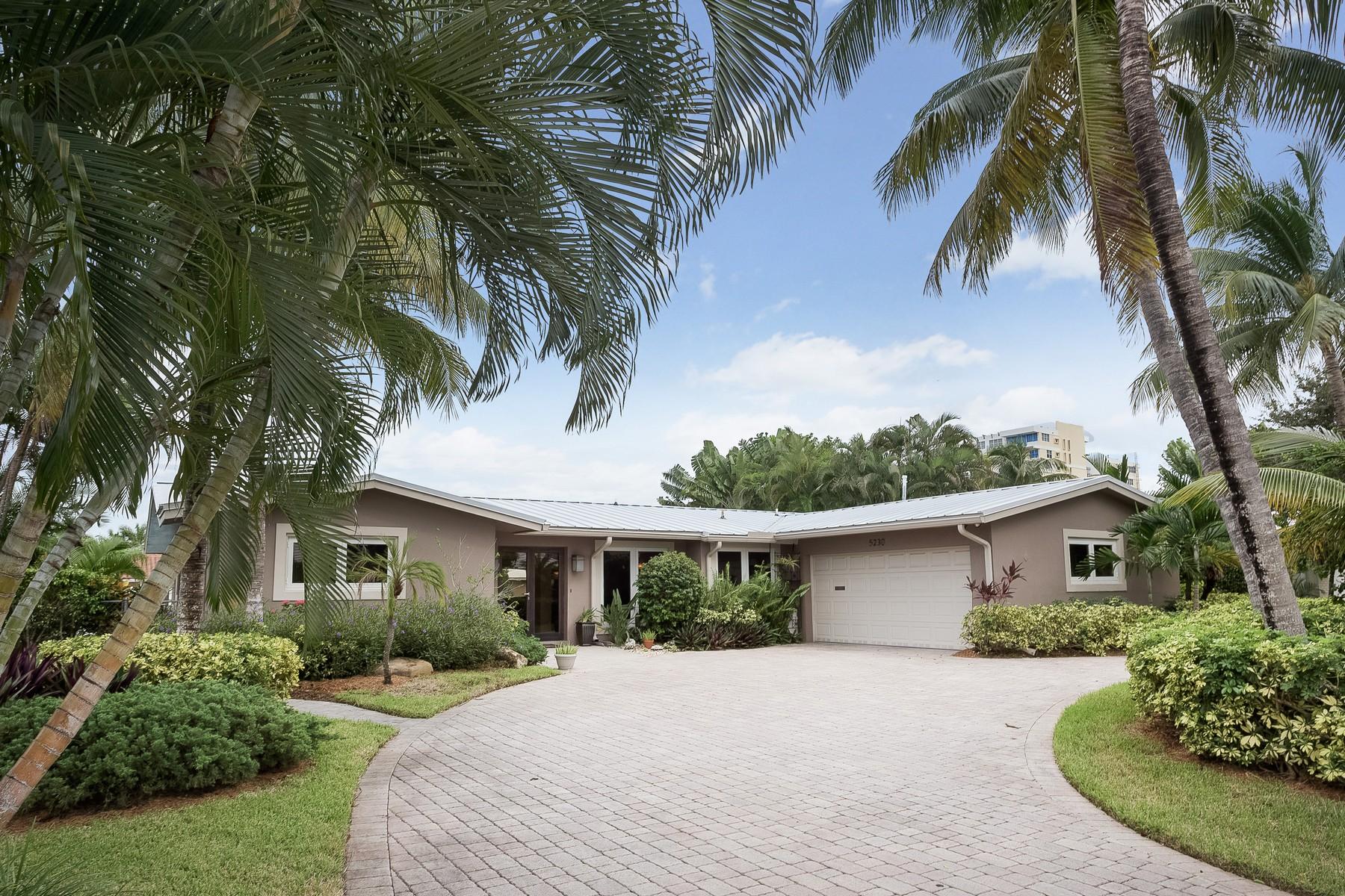 Maison unifamiliale pour l Vente à The Landings First 5230 NE 32 Ave Fort Lauderdale, Florida 33308 États-Unis