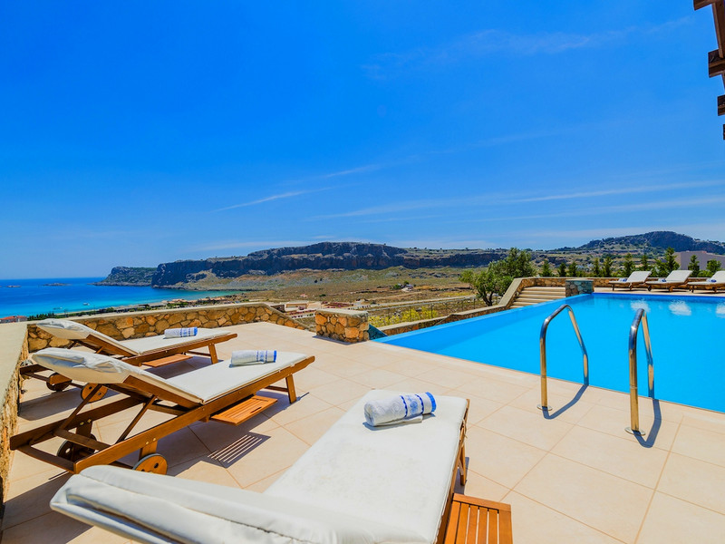Single Family Home for Sale at Luxurious Villa Rhodes Jetset Lindos, Rhodes, Dodecanese, Aegean Rhodes, Southern Aegean, 85100 Greece