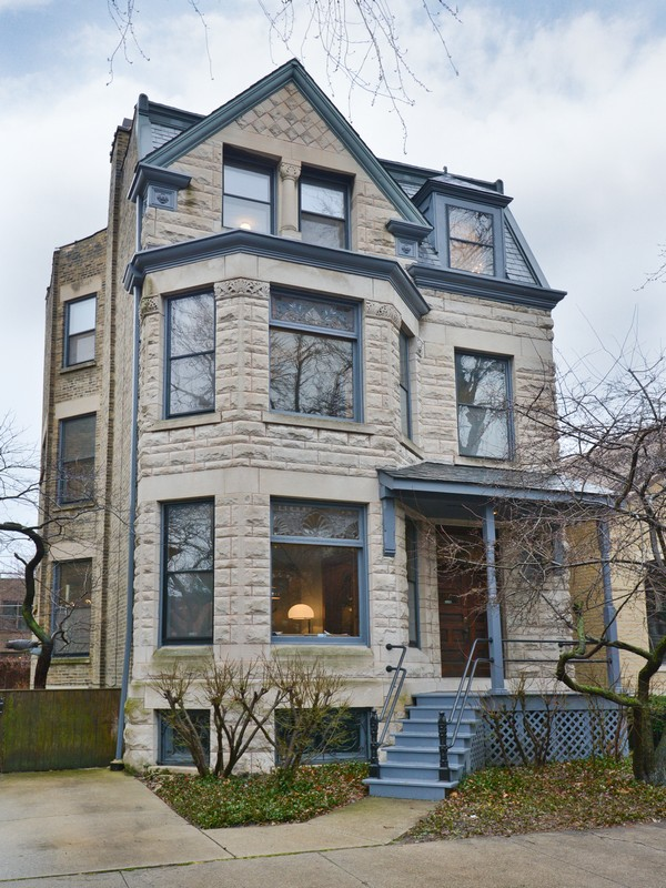 Single Family Home for Sale at Rare Vintage Lincoln Park Home 2320 N Cleveland Avenue Lincoln Park, Chicago, Illinois 60614 United States
