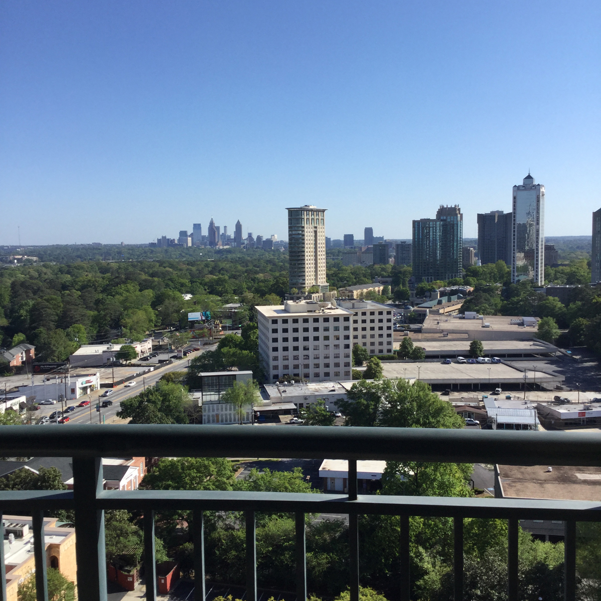 rentals property at One Bedroom With City Views Furnished/Unfurnished