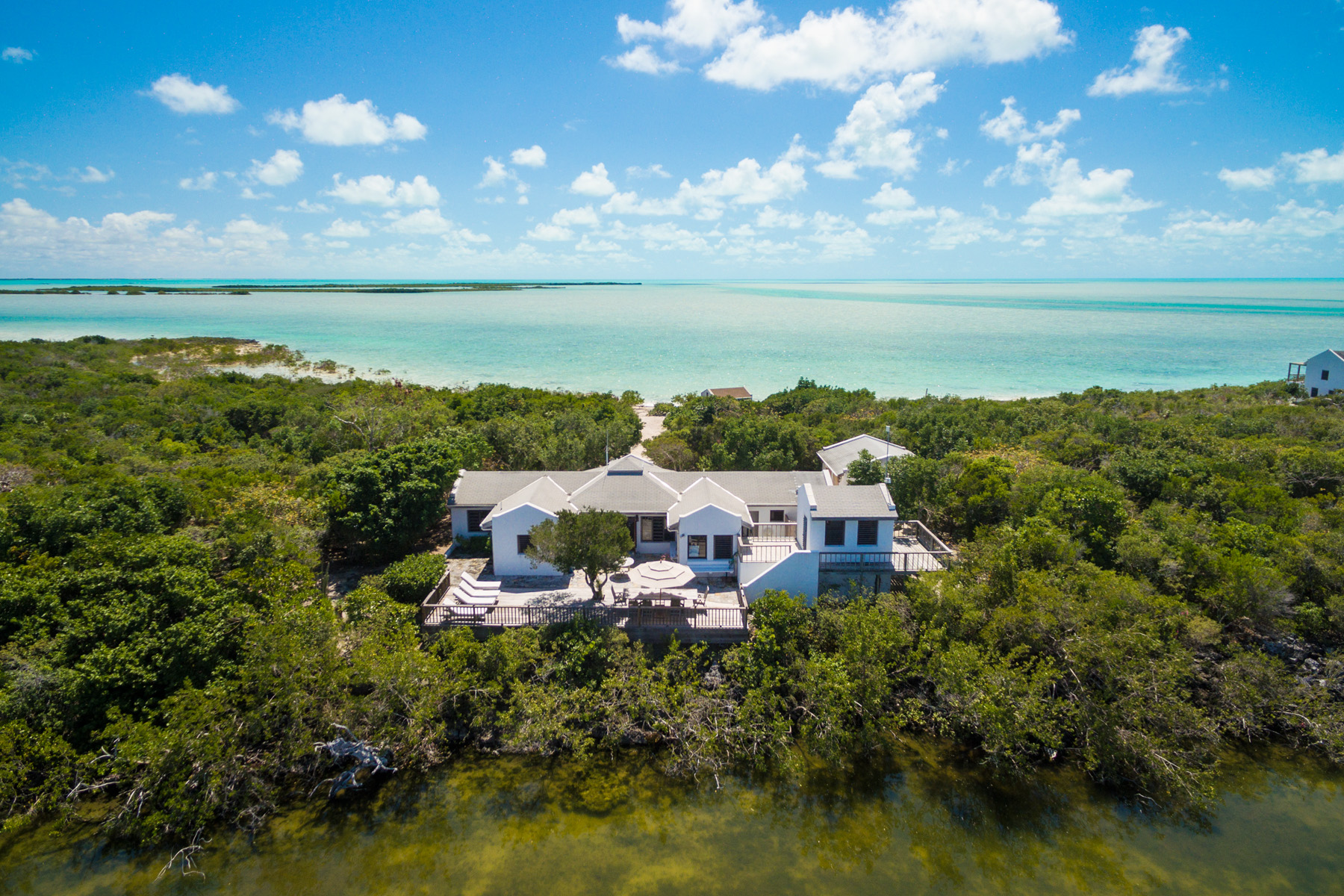 sales property at Boat House Cottage on Pine Cay