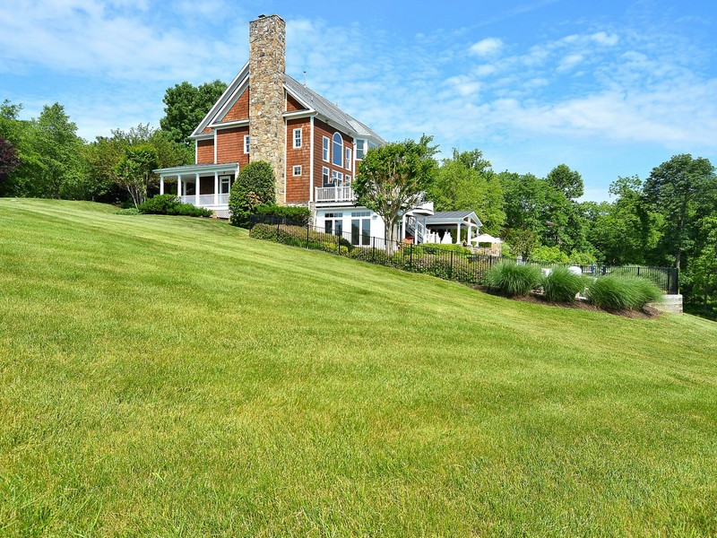 Single Family Home for Sale at Sophisticated Farmhouse 17140 Bold Venture Drive Leesburg, Virginia, 20176 United States