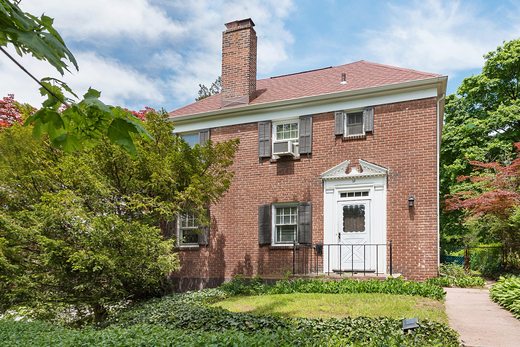 sales property at Detached Brick Colonial