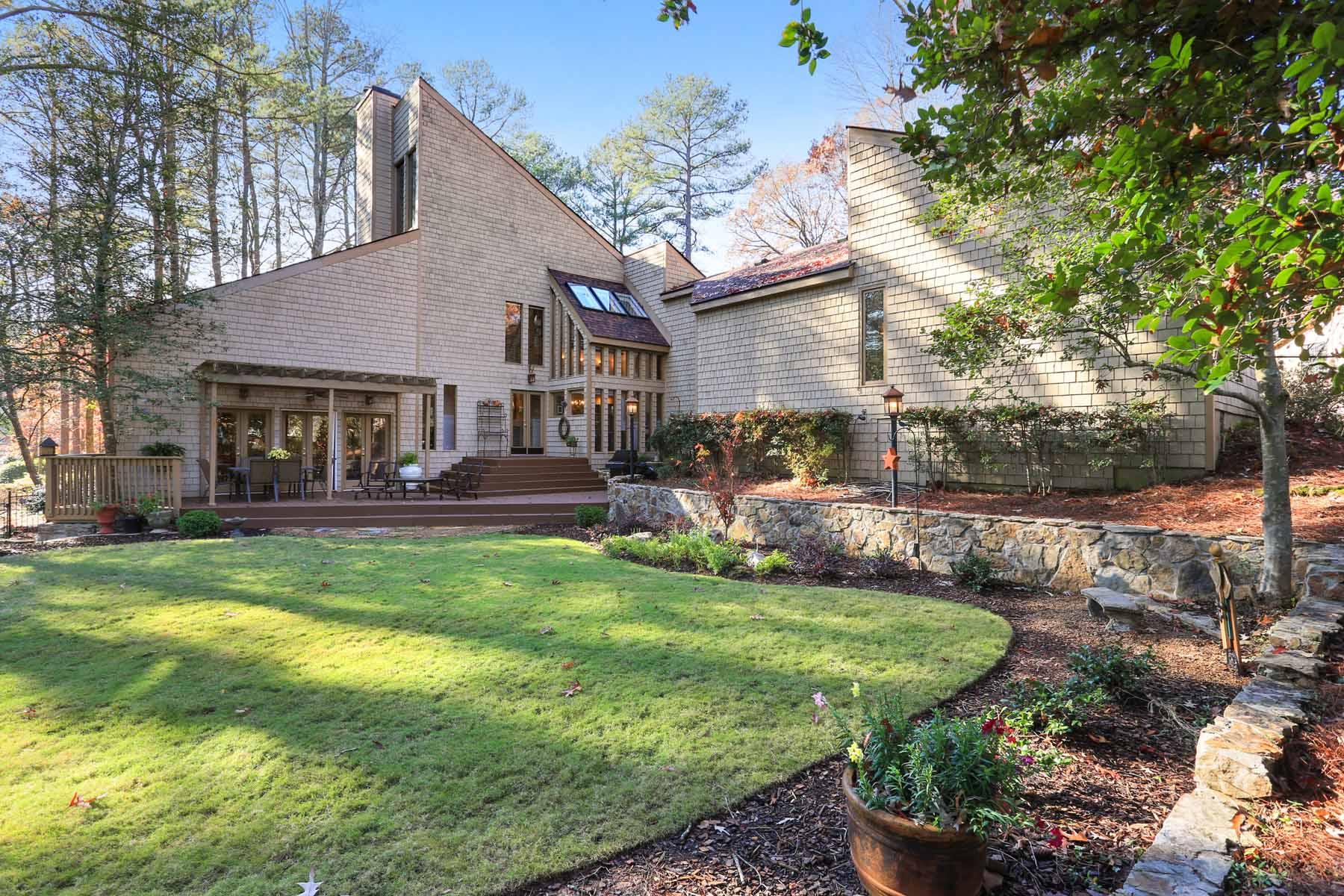 獨棟家庭住宅 為 出售 在 Private Mountain-Like Retreat 7945 Saddleridge Drive Sandy Springs, 喬治亞州, 30350 美國