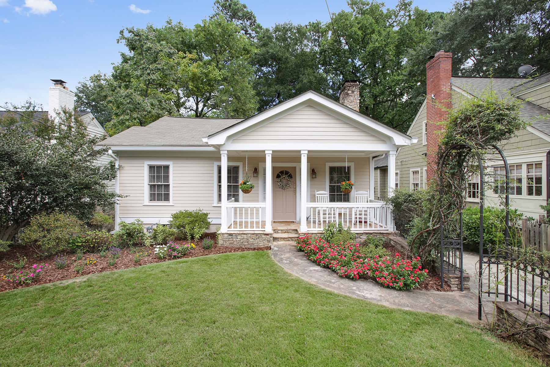 Single Family Home for Sale at Charming Buckhead Bungalow With Finished Terrace Level 2279 Fairhaven Circle NE Peachtree Hills, Atlanta, Georgia, 30305 United States