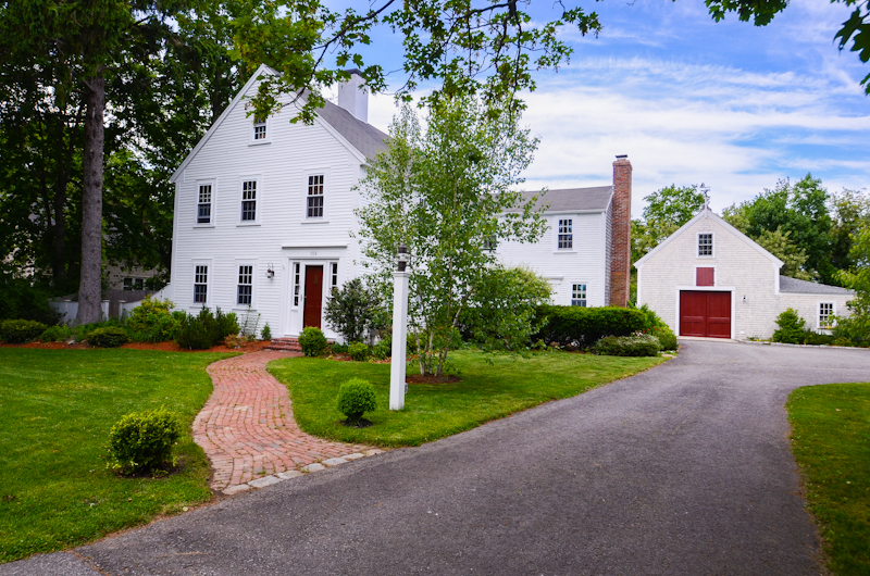 Single Family Home for Sale at Restored Farmhouse 106 Powder Point Avenue Duxbury, Massachusetts 02332 United States