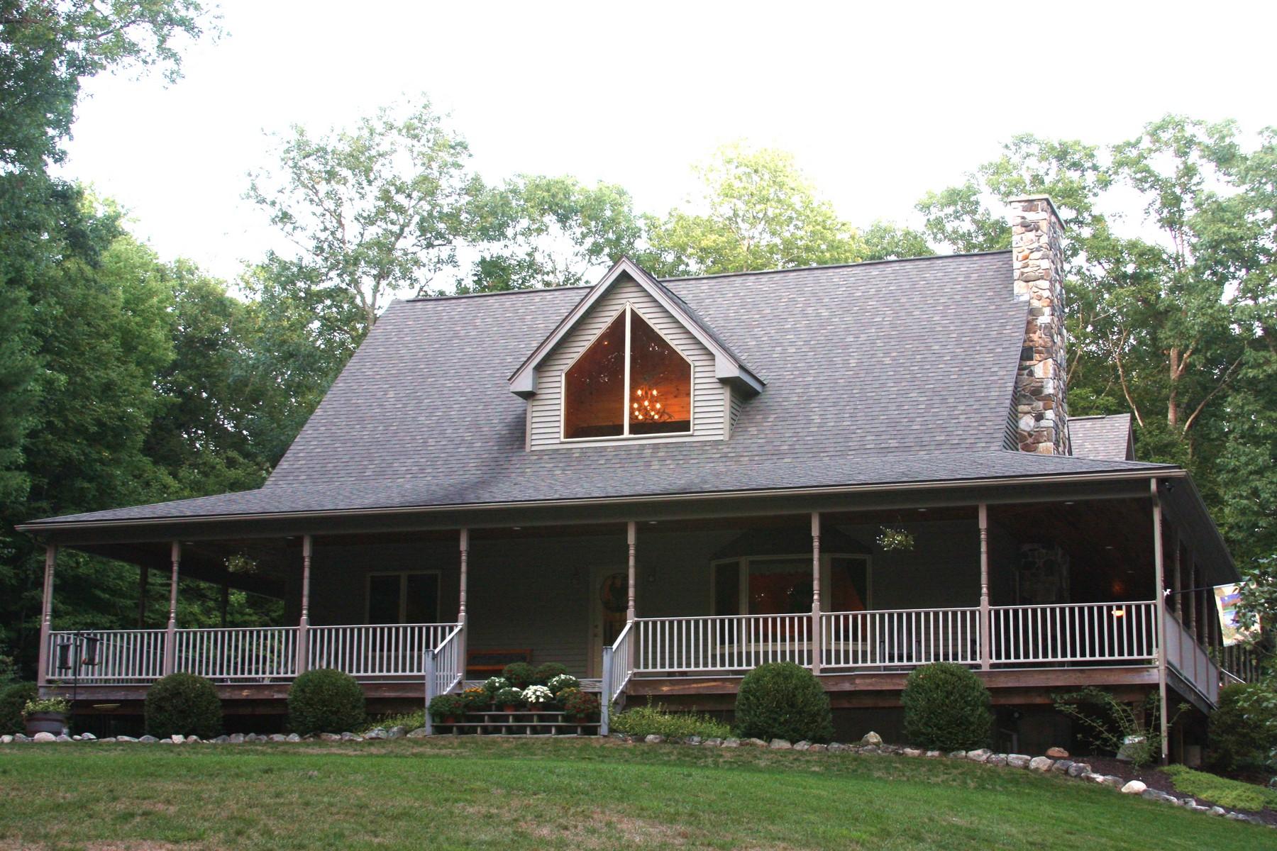独户住宅 为 销售 在 Custom-Built Home - Serene Setting 2813 Greenwich Road Hardwick, 马萨诸塞州, 01031 美国