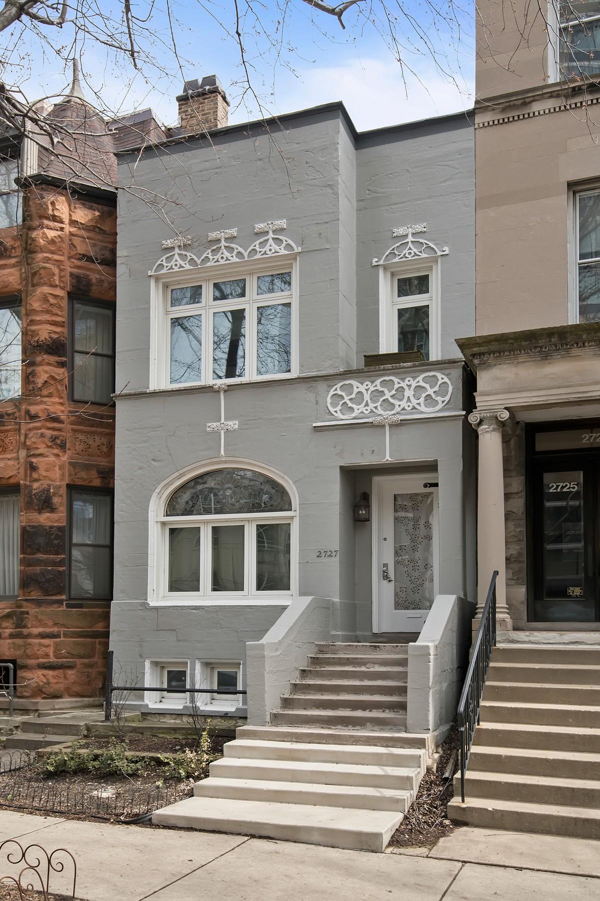 獨棟家庭住宅 為 出售 在 East Lincoln Park Row Home 2727 N Hampden Court Lincoln Park, Chicago, 伊利諾斯州, 60614 美國