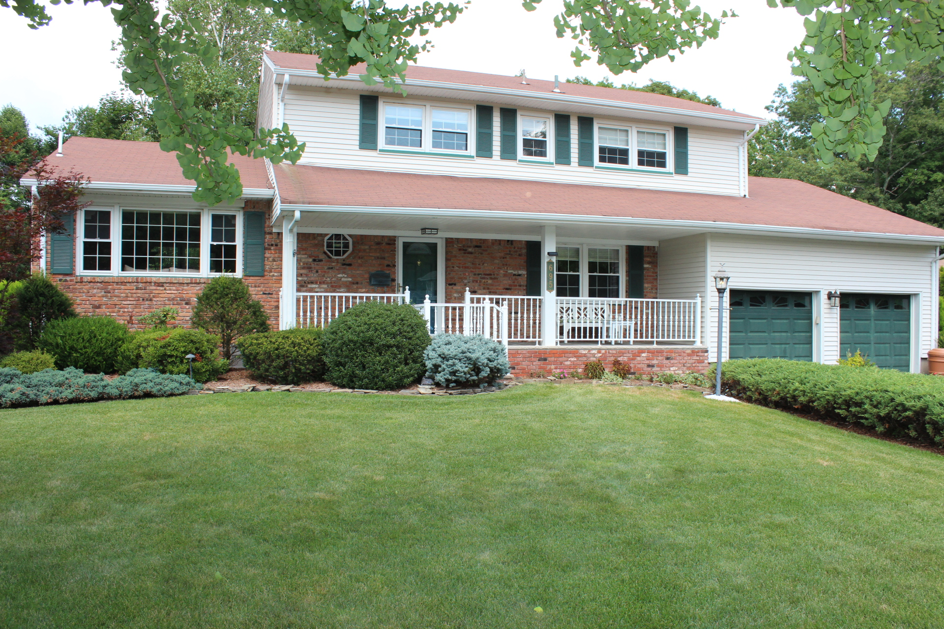 sales property at Fabulous Center Hall Colonial.