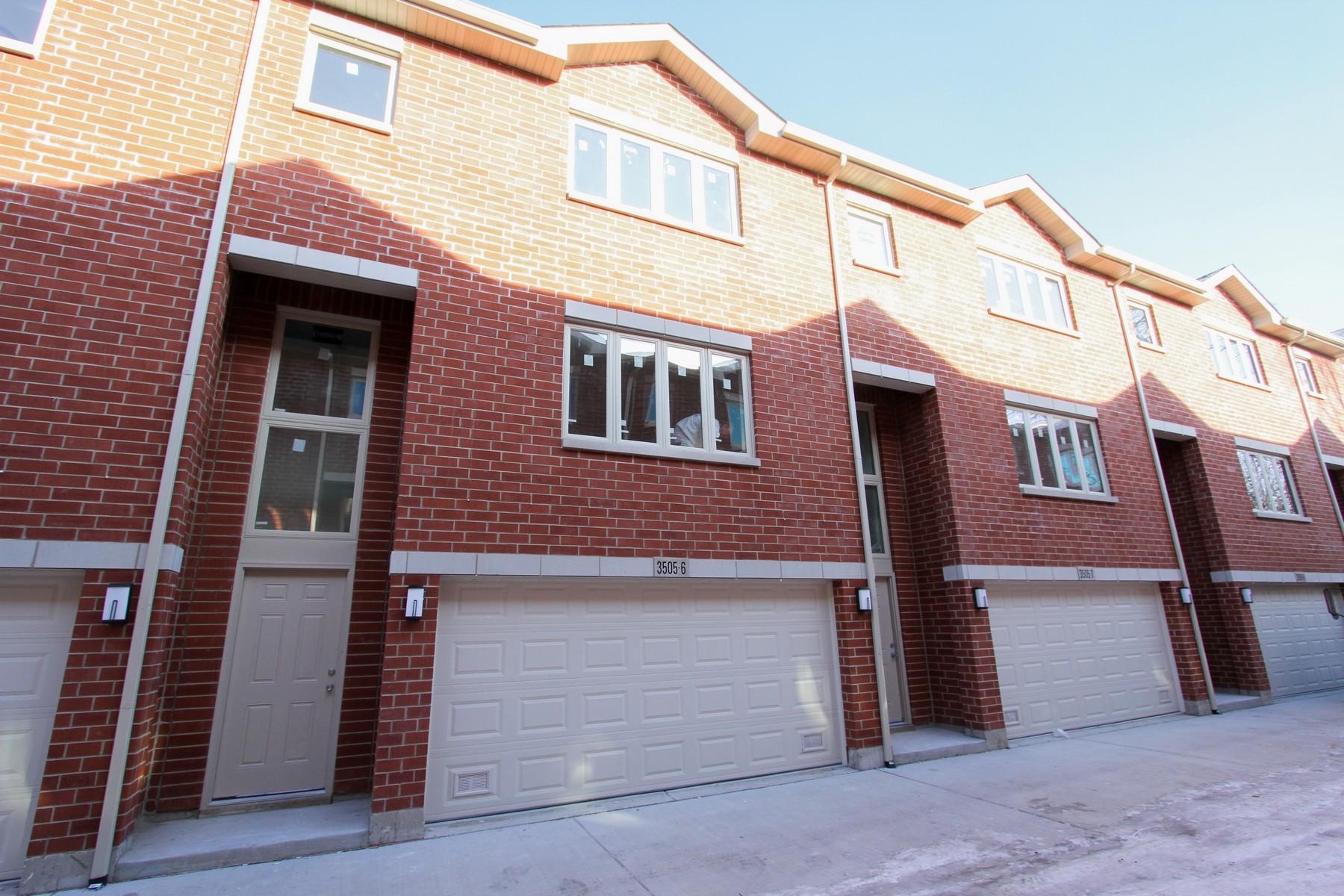 Residência urbana para Venda às McKinley Square Townhome! 3527 S Maplewood Avenue Unit 3 McKinley Park, Chicago, Illinois, 60632 Estados Unidos