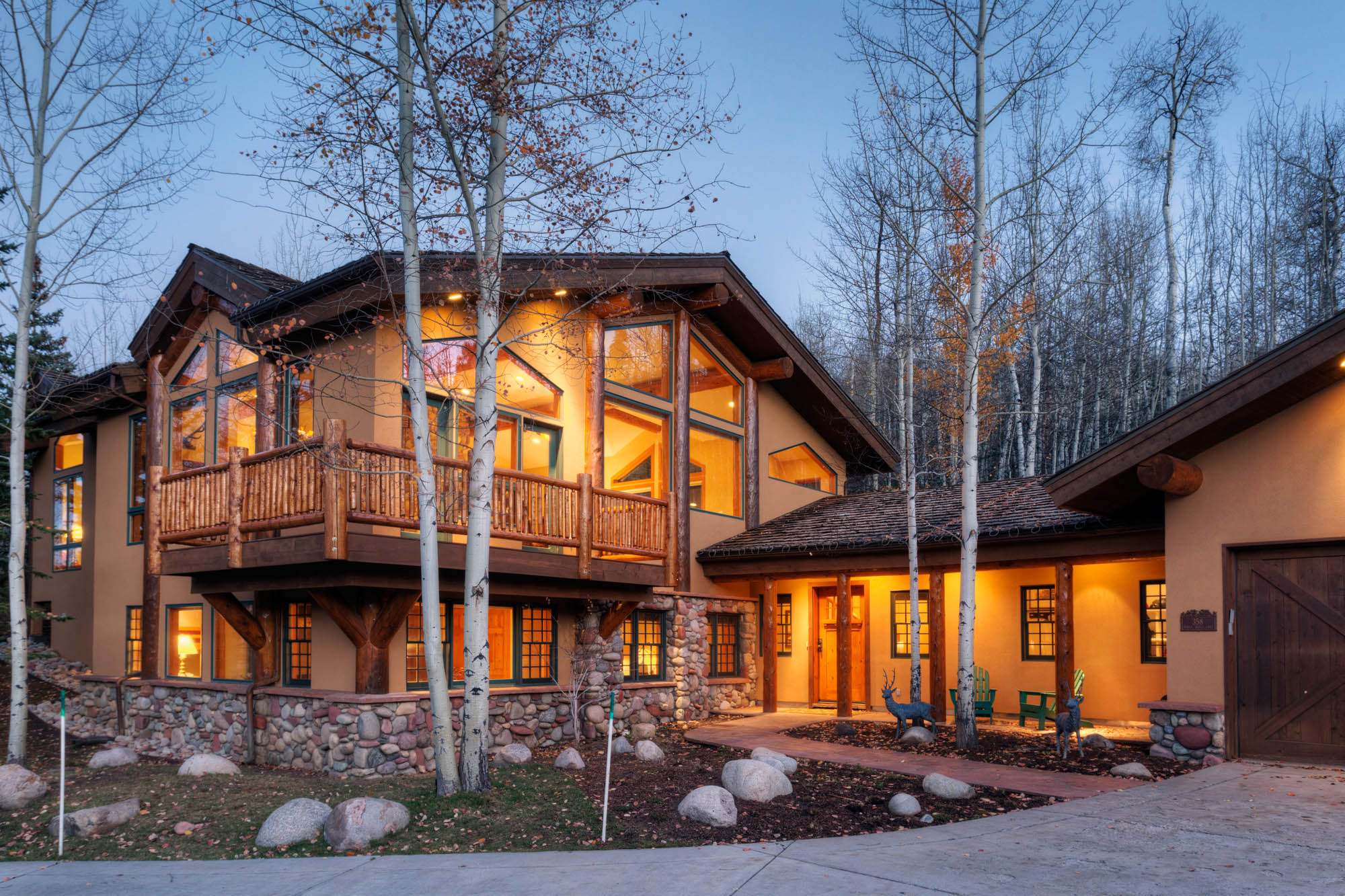 sales property at Warm, Elegant Snowmass Home