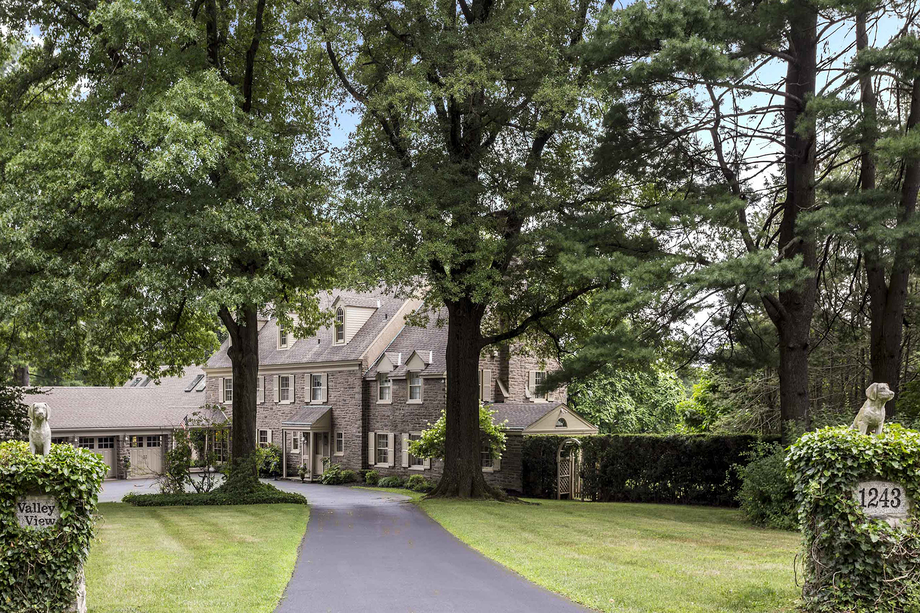 Single Family Home for Sale at Valley View 1243 Country Club Road Gladwyne, Pennsylvania 19035 United States