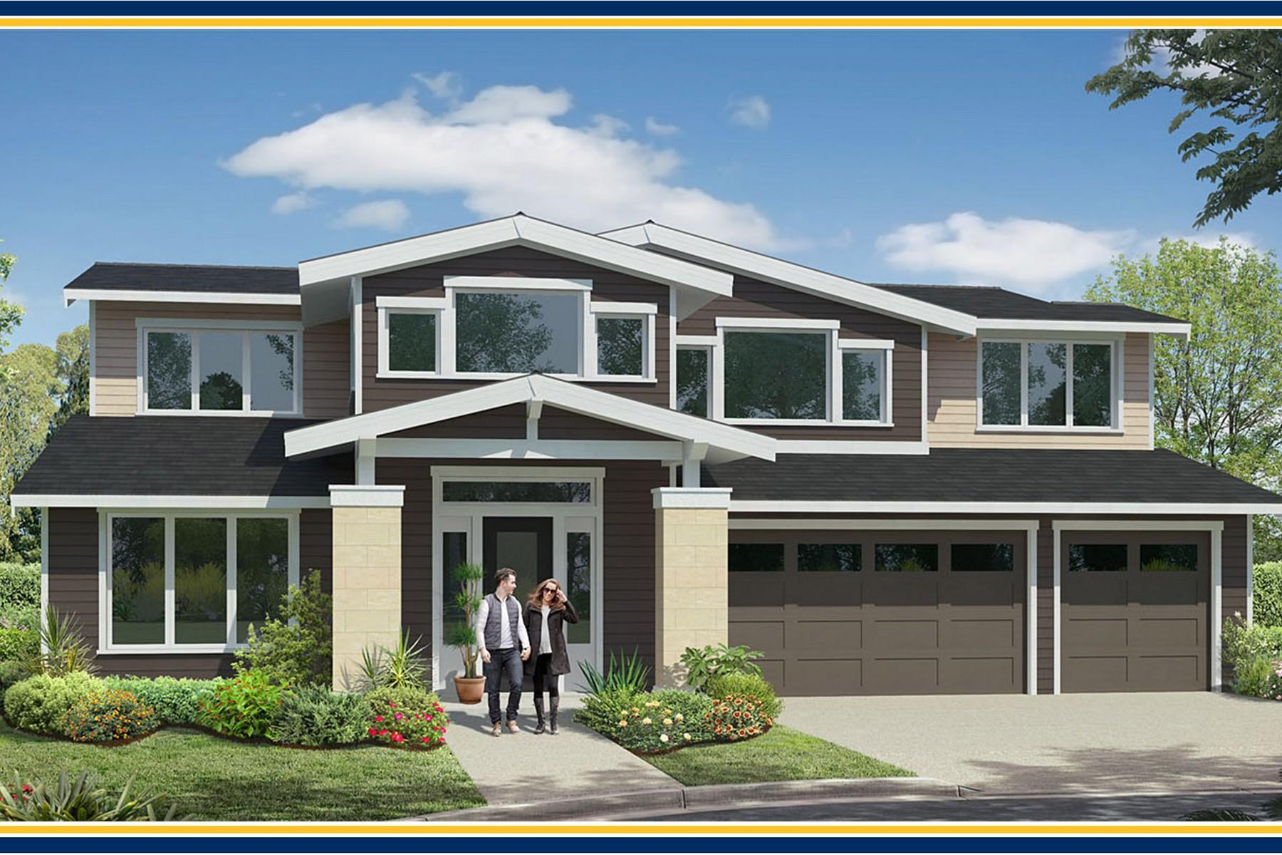 Single Family Home for Sale at BDR Homes Rose Hill Presale 11837 NE 73rd Street Kirkland, Washington, 98033 United States