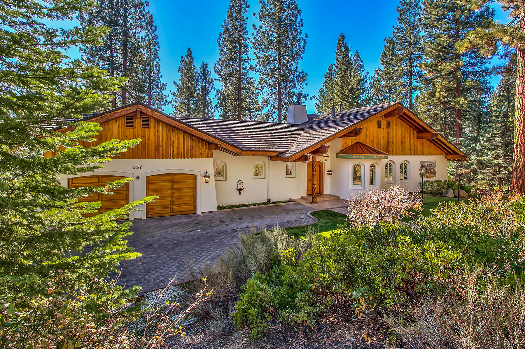 Single Family Home for Sale at 537 Ponderosa Avenue Incline Village, Nevada 89451 United States