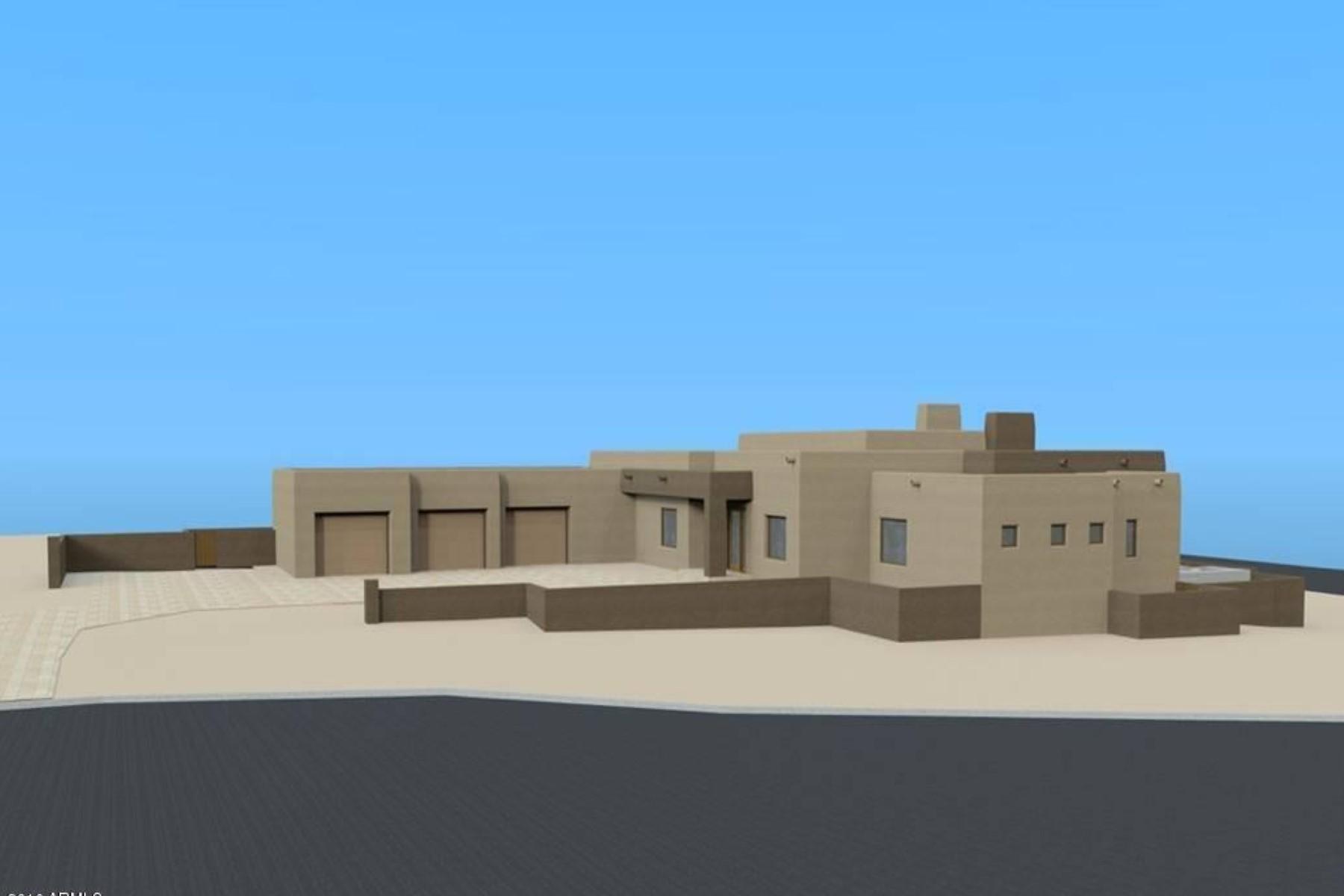 Частный односемейный дом для того Продажа на Brand new construction with a contemporary flair 9411 E Covey Trl Scottsdale, Аризона, 85262 Соединенные Штаты