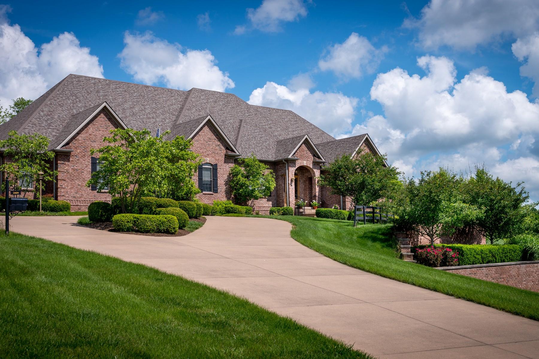 Casa para uma família para Venda às 2409 Williamsburg Estates Lane Lexington, Kentucky, 40504 Estados Unidos