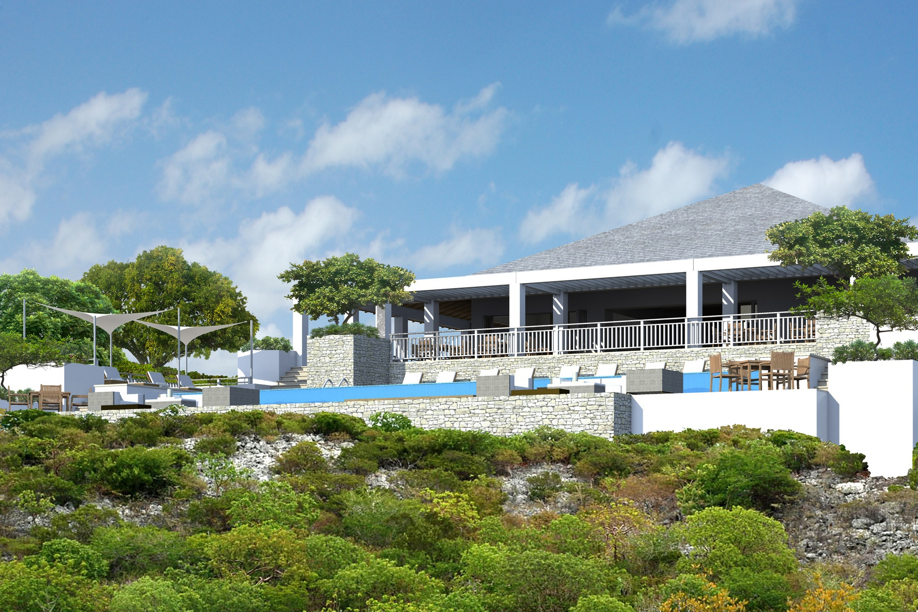 Additional photo for property listing at Ridgetop Residence 811 Sailrock, South Caicos Islas Turcas Y Caicos