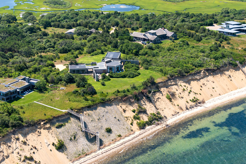 Single Family Home for Sale at Waterfront perfection on Martha's Vineyard 23 North Neck Road Edgartown, Massachusetts, 02539 United States