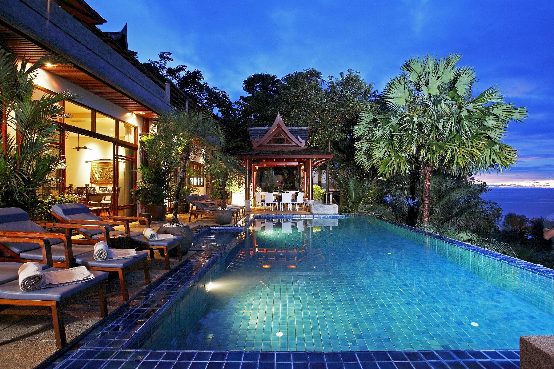 sales property at Elegant Sea View Villa in Chic Surin