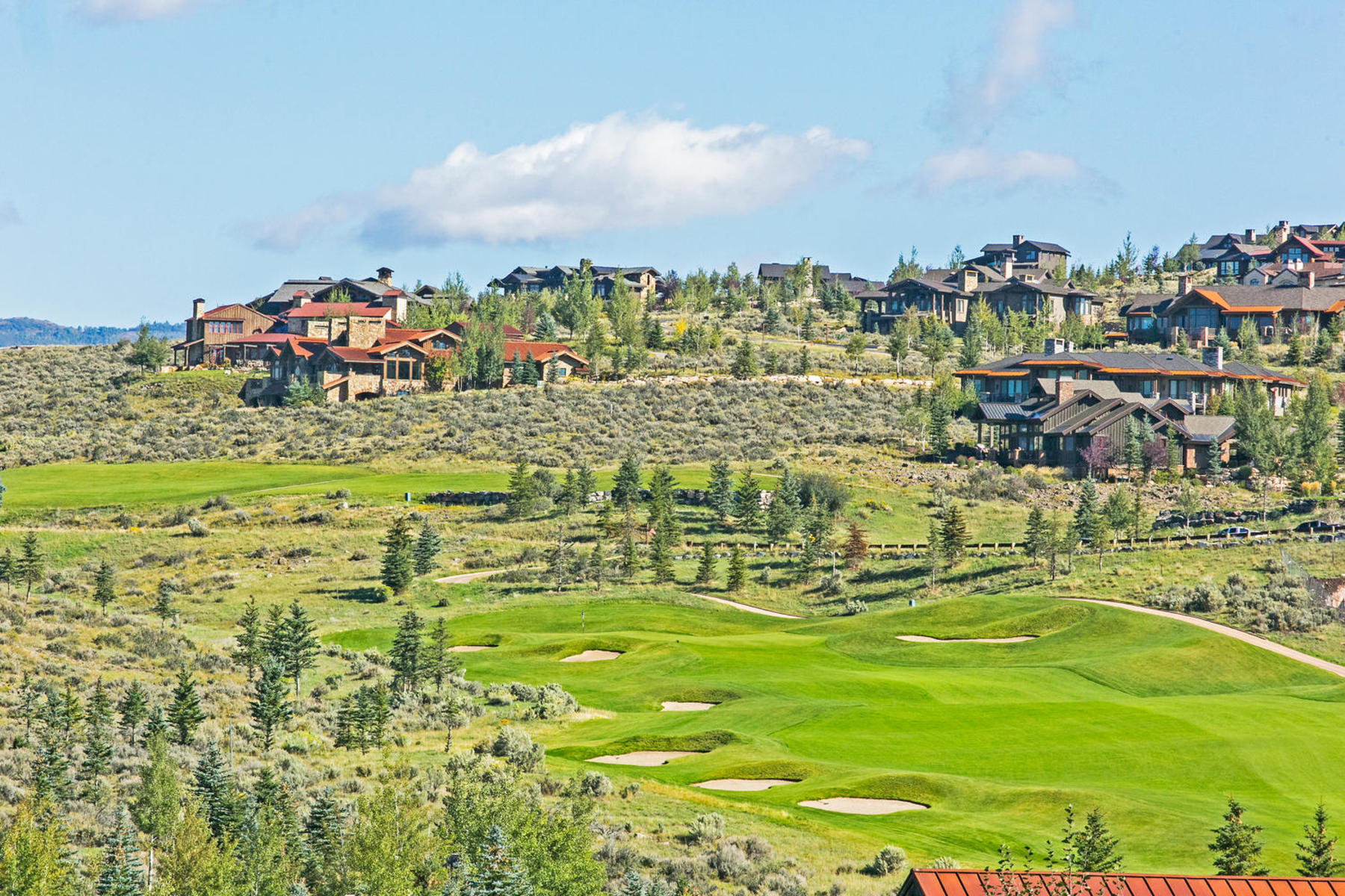 Terrain pour l Vente à Golf Course and Mountain Views 2755 E Bitterbrush Dr Lot#32 Park City, Utah 84098 États-Unis