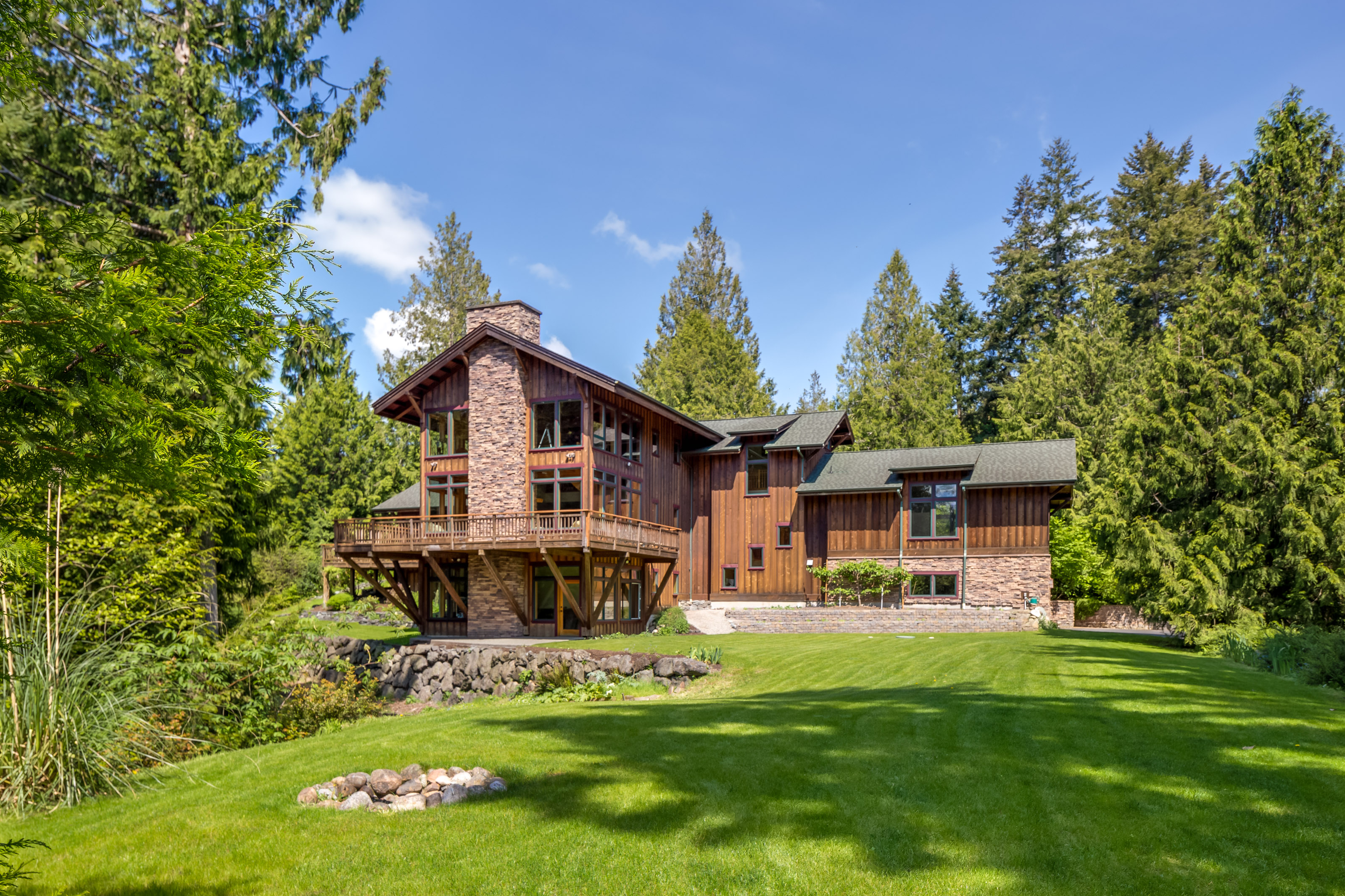 Single Family Home for Sale at Extraordinary 9 Acre Retreat 3905 Palomino Dr NE Bainbridge Island, Washington 98110 United States