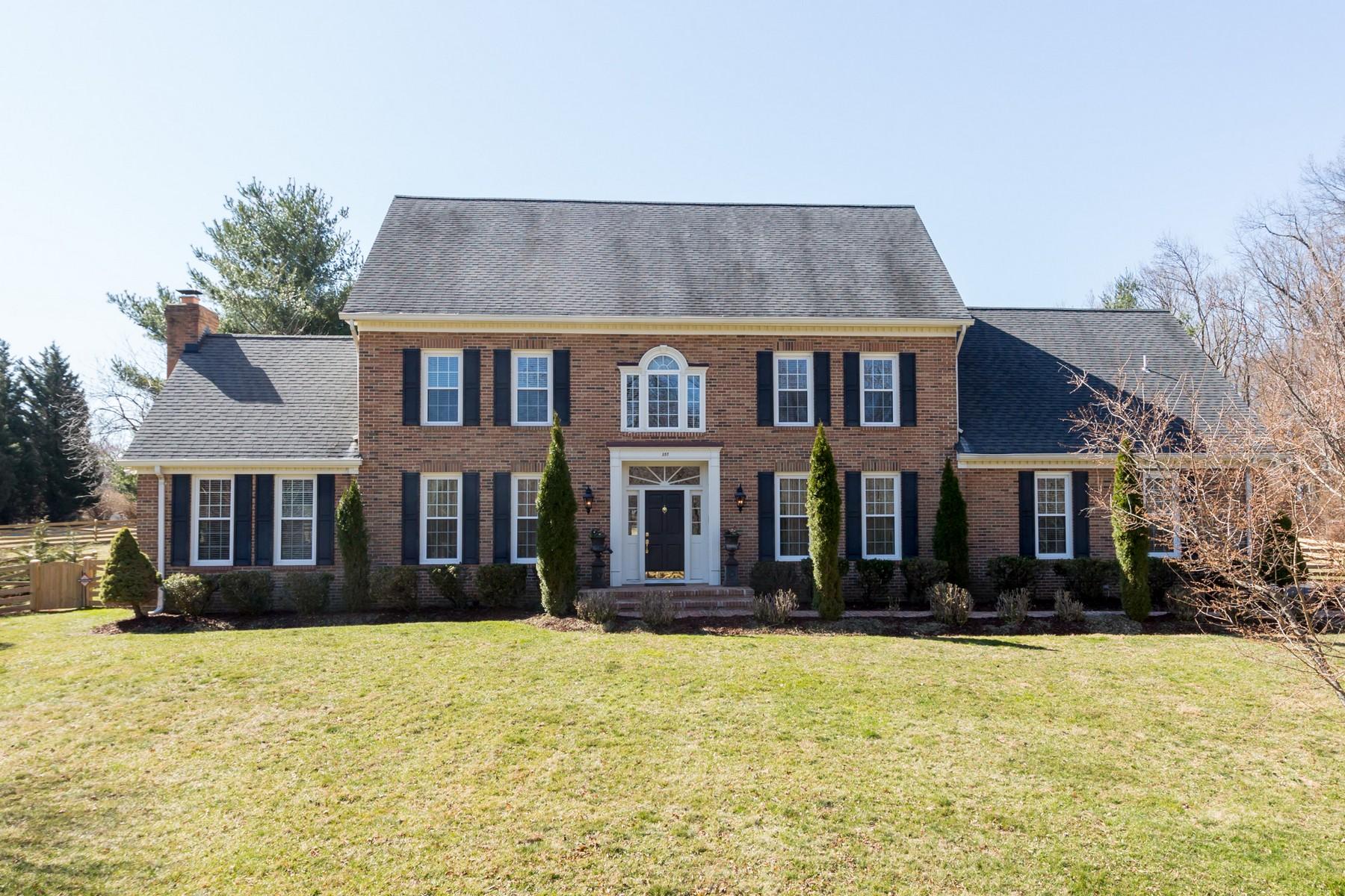 Частный односемейный дом для того Продажа на 357 Gallop Wood, Great Falls 357 Gallop Wood Pl Great Falls, Виргиния 22066 Соединенные Штаты