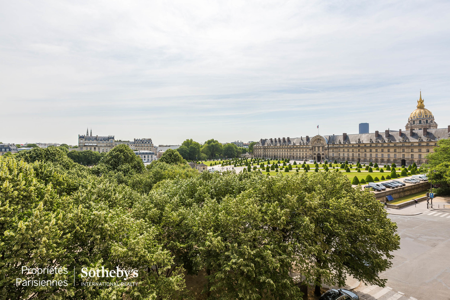 Property For Sale at Exceptional view over the Invalides monument