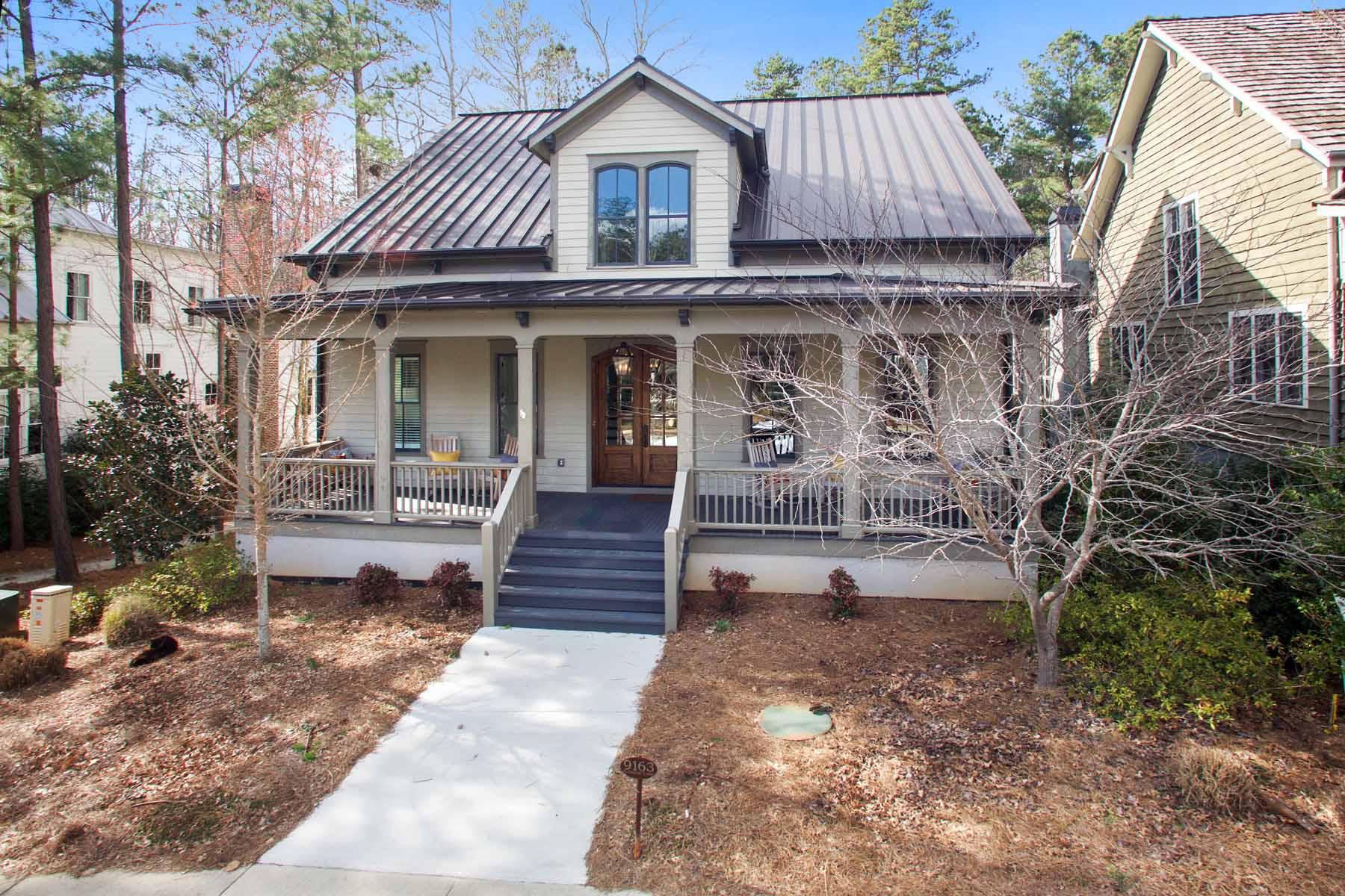 Maison unifamiliale pour l à louer à Craftsman Style Home In Serenbe Community 9163 Selborne Lane Chattahoochee Hills, Georgia 30268 États-Unis