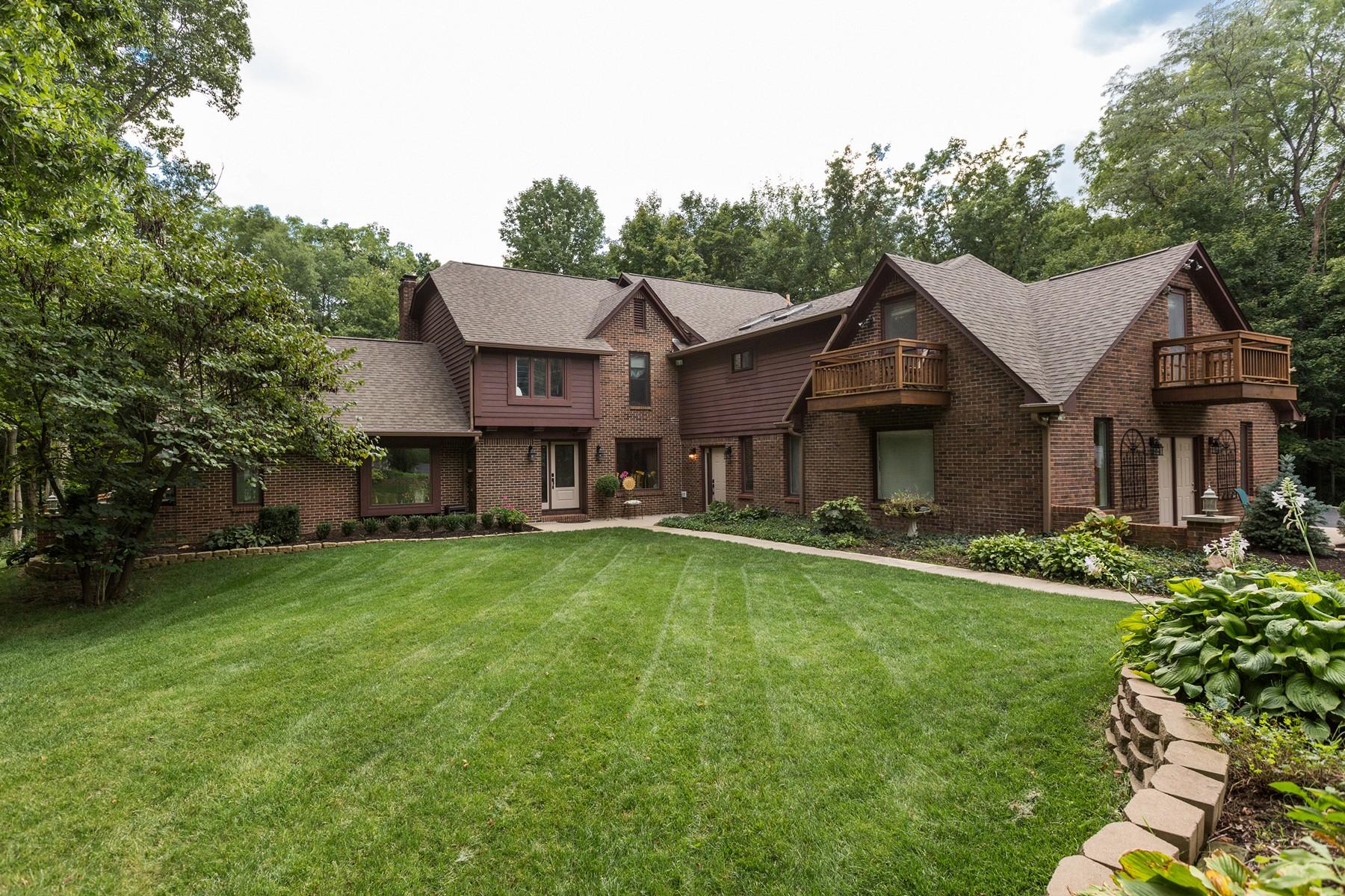 Vivienda unifamiliar por un Venta en Incredible 5 Acre Property 7153 W. 86th Street Indianapolis, Indiana, 46278 Estados Unidos