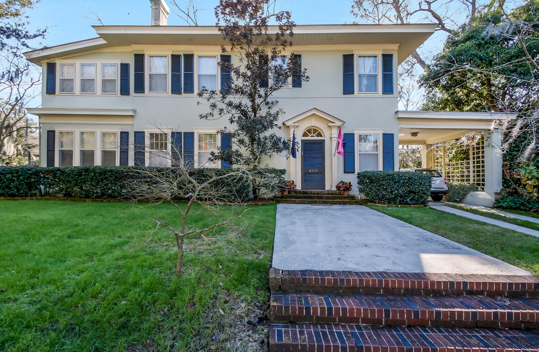 Casa Unifamiliar por un Venta en Ardsley Park 409 E. 44th Street Savannah, Georgia, 31405 Estados Unidos