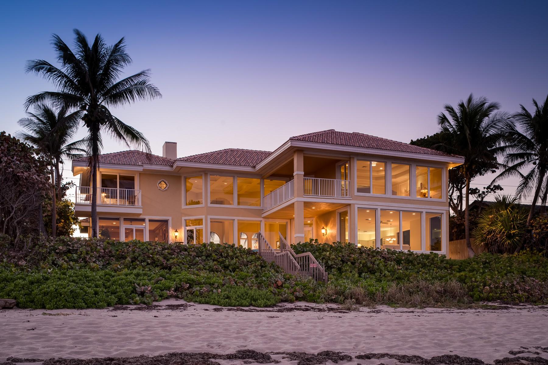 Casa para uma família para Venda às 4111 S Ocean Blvd , Highland Beach, FL 33487 Highland Beach, Florida 33487 Estados Unidos