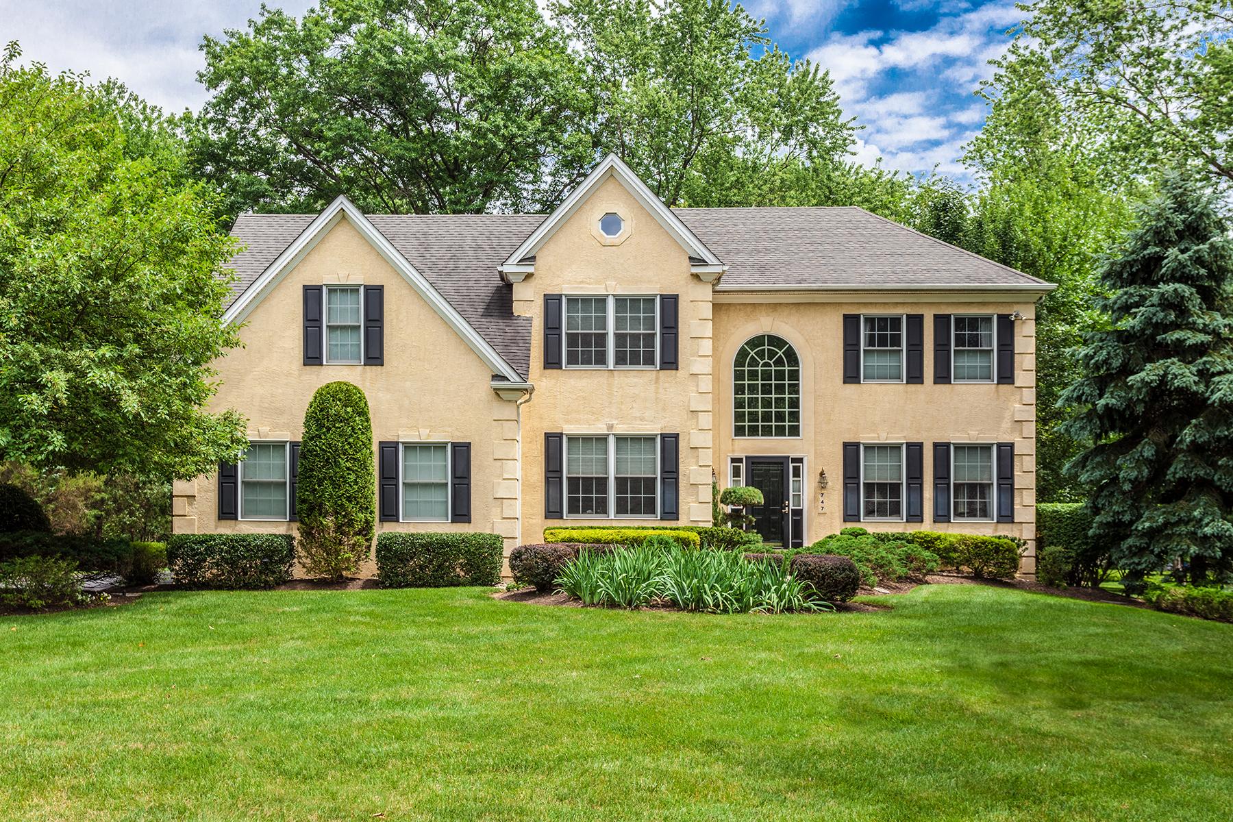 Частный односемейный дом для того Продажа на Ambler, PA 747 Hemingway Drive Ambler, Пенсильвания 19002 Соединенные Штаты
