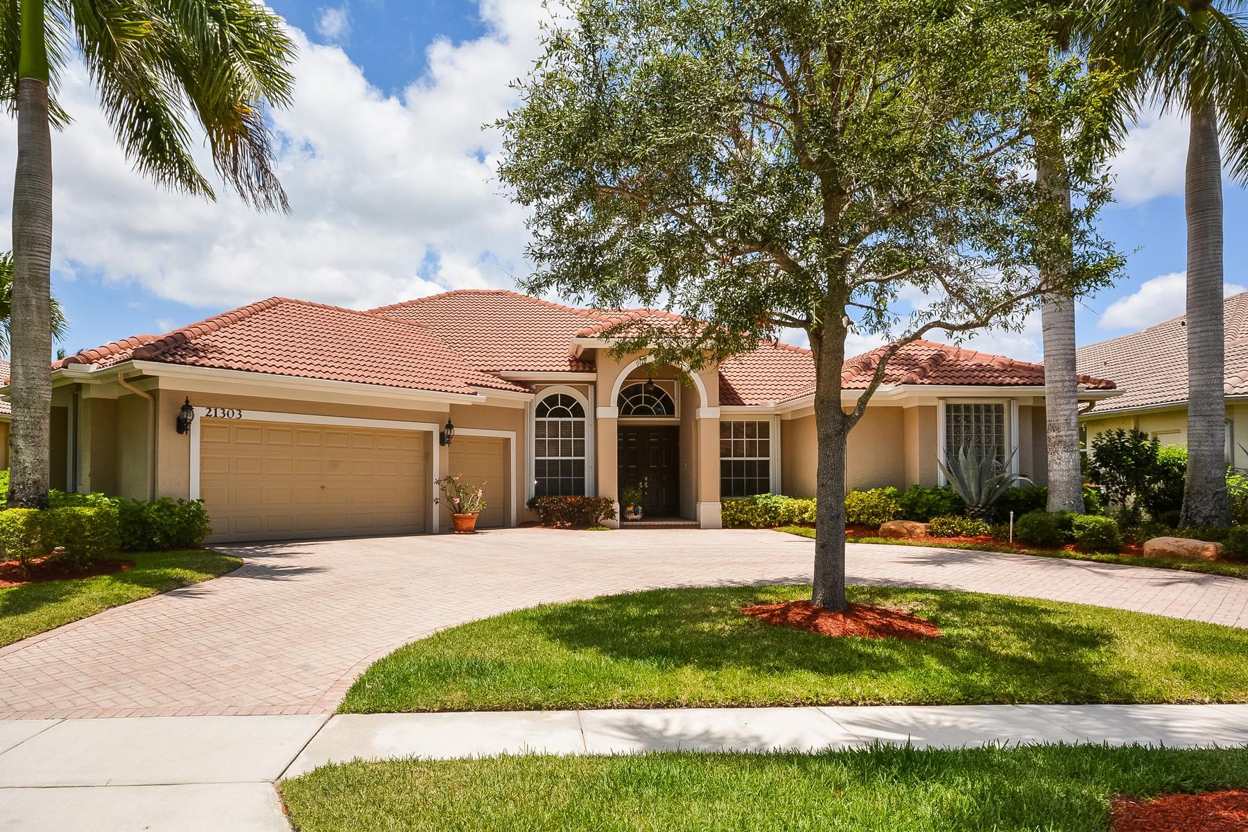 단독 가정 주택 용 매매 에 21303 Falls Ridge Way , Boca Raton, FL 33428 21303 Falls Ridge Way Boca Raton, 플로리다 33428 미국