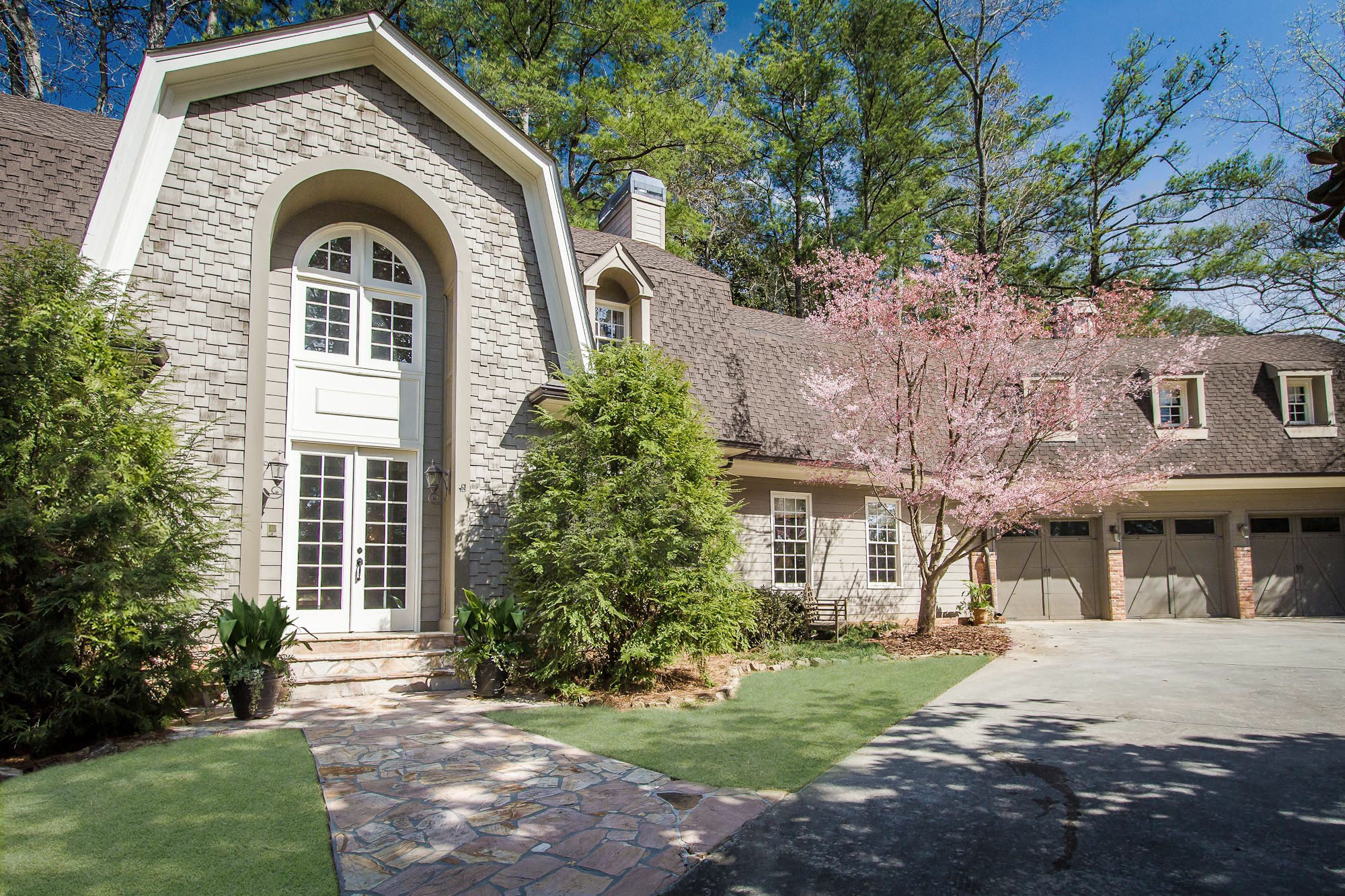Single Family Home for Sale at Large Dutch Colonial Home With Amazing Lifestyle Floor Plan 3115 E Wood Valley Road NW Buckhead, Atlanta, Georgia, 30327 United States