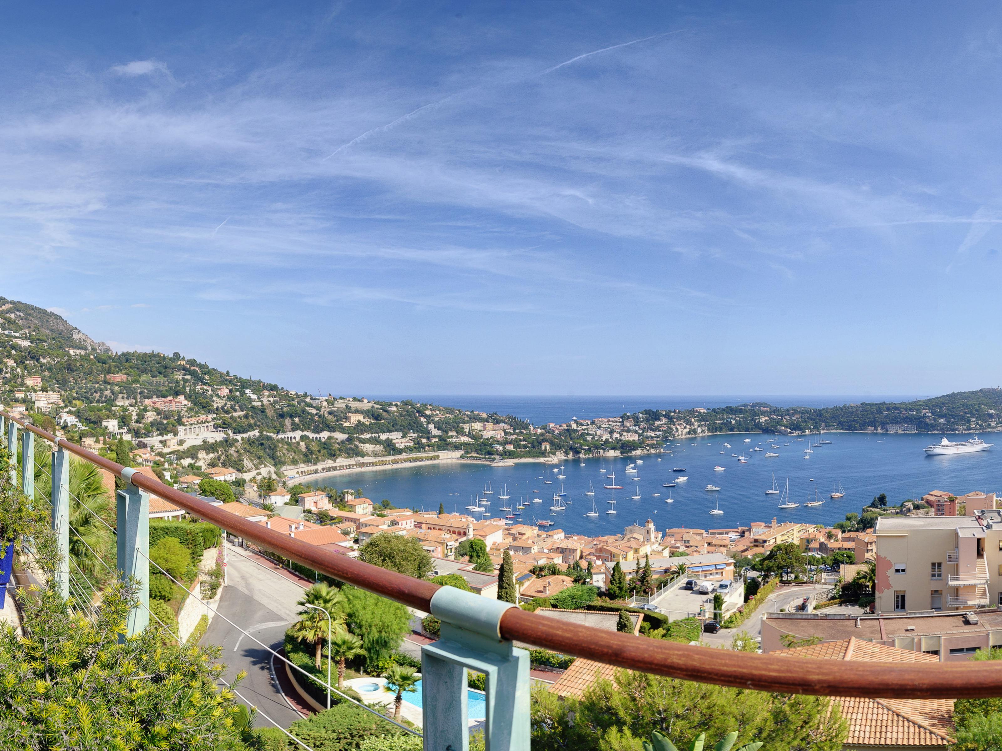 단독 가정 주택 용 매매 에 Lovely Provencale villa , panoramic sea view on Villefranche Harbour Villefranche sur Mer Villefranche Sur Mer, 프로벤스 앞ㄹ프스 코테 D'Azur 06230 프랑스