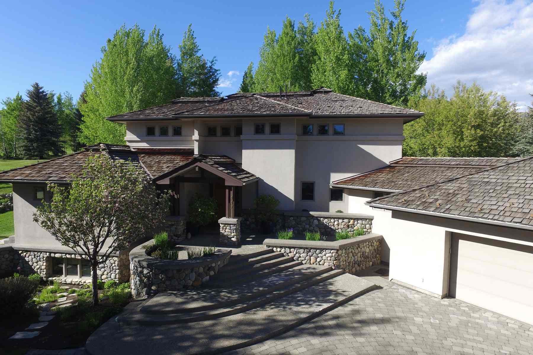 Maison unifamiliale pour l Vente à Mountain Contemporary 117 Camas Loop Elkhorn, Sun Valley, Idaho, 83353 États-Unis