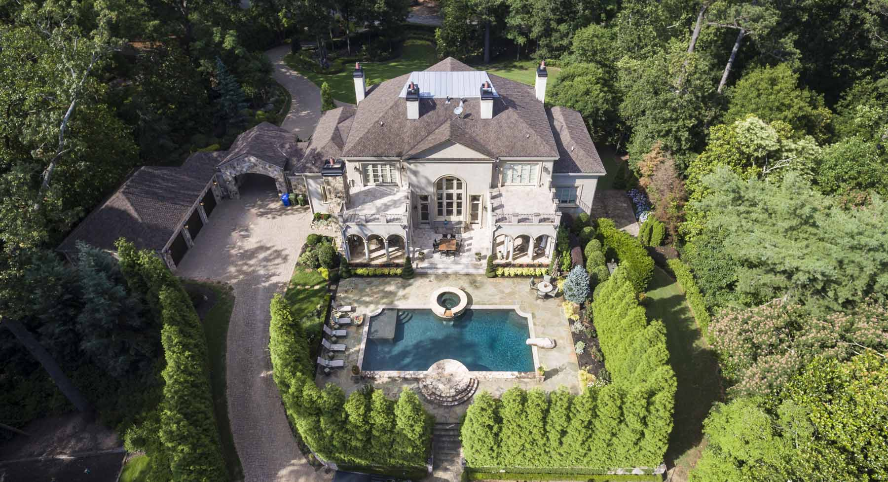 Single Family Home for Sale at An Exceptional Buckhead Retreat 4440 Northside Dr NW Buckhead, Atlanta, Georgia, 30327 United States