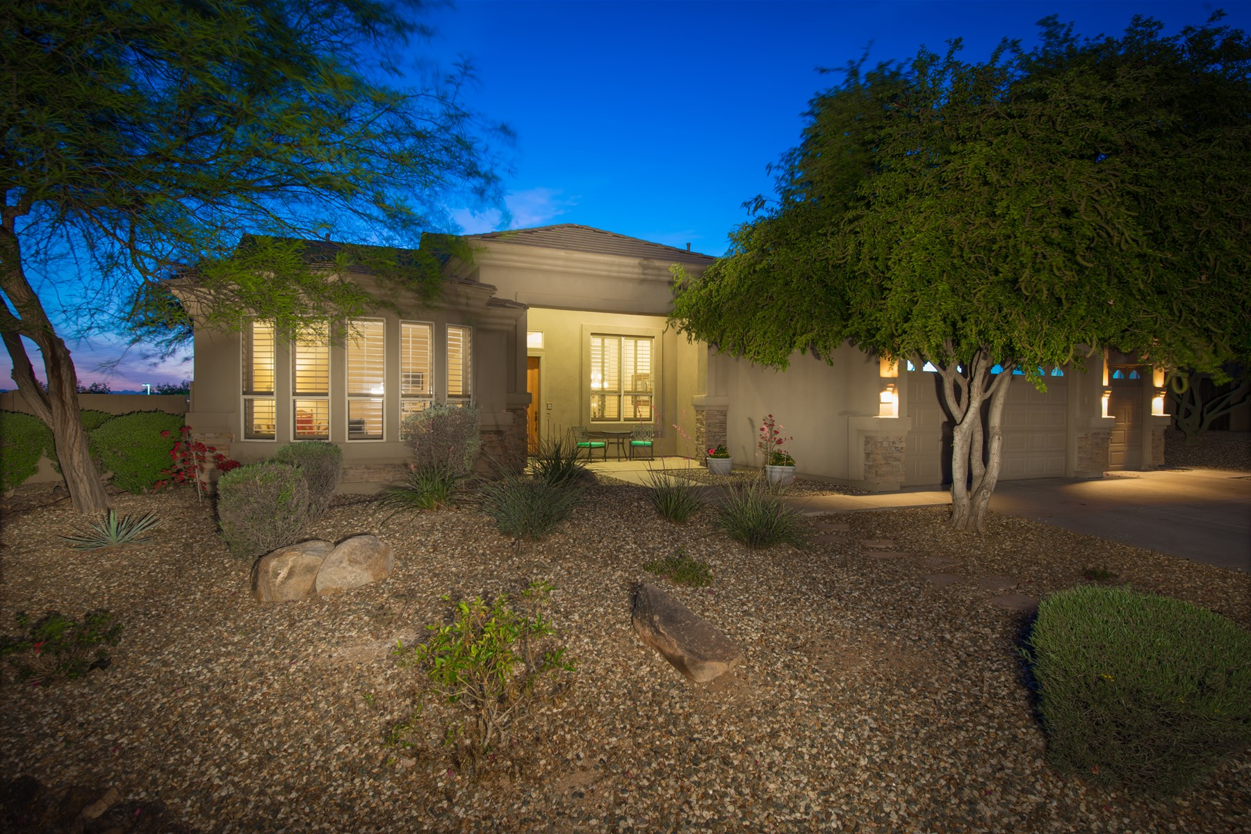Single Family Home for Sale at Highly desirable home in the gated sierra foothills in scottsdale 10894 N 125th Pl Scottsdale, Arizona, 85259 United States