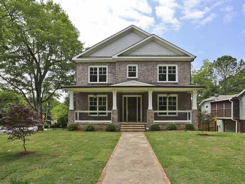 一戸建て のために 売買 アット New Construction in Garden Hills 383 Peachtree Avenue NE Garden Hills, Atlanta, ジョージア 30305 アメリカ合衆国