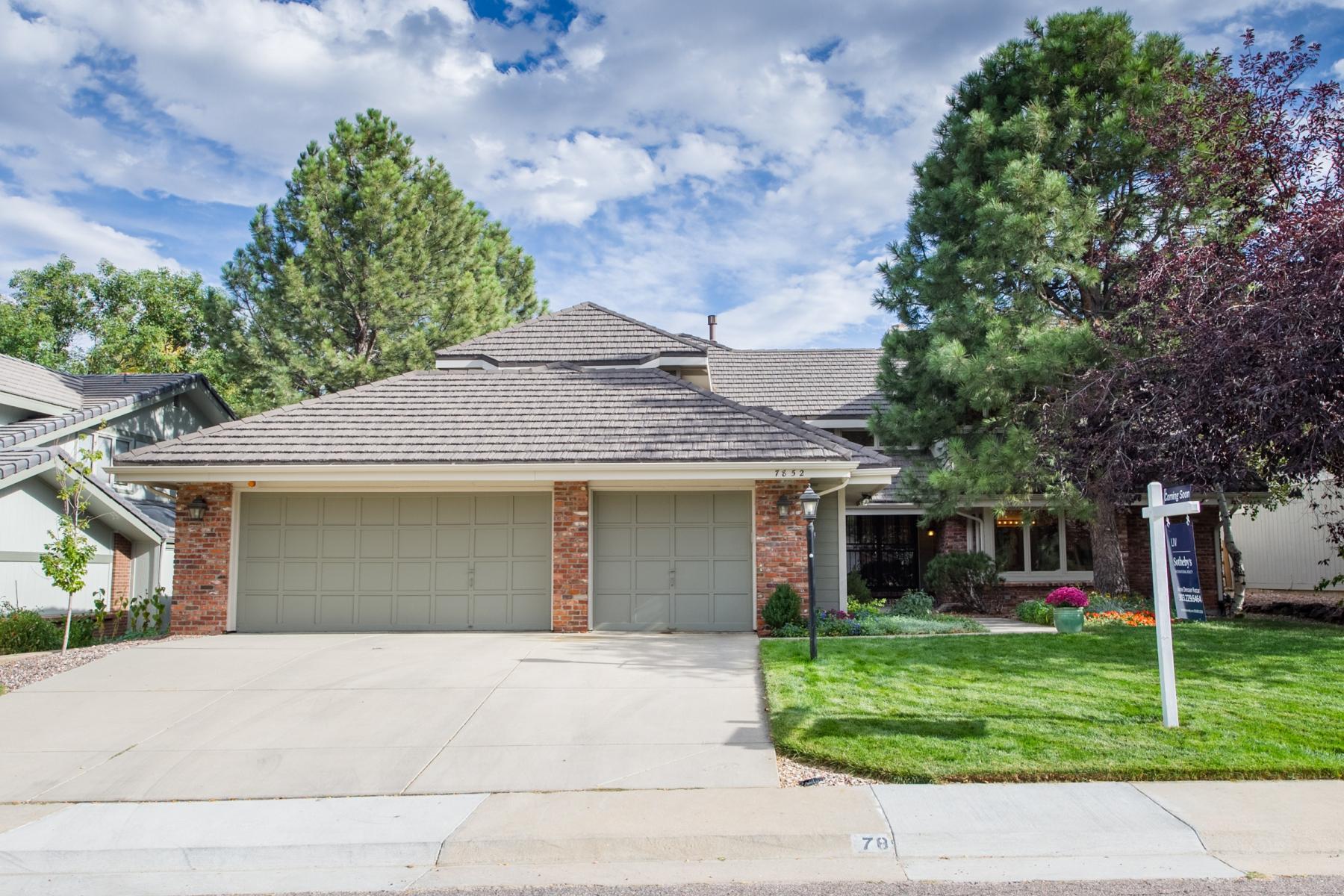 Maison unifamiliale pour l Vente à Heritage Greens 7852 S Glencoe Way Centennial, Colorado 80122 États-Unis